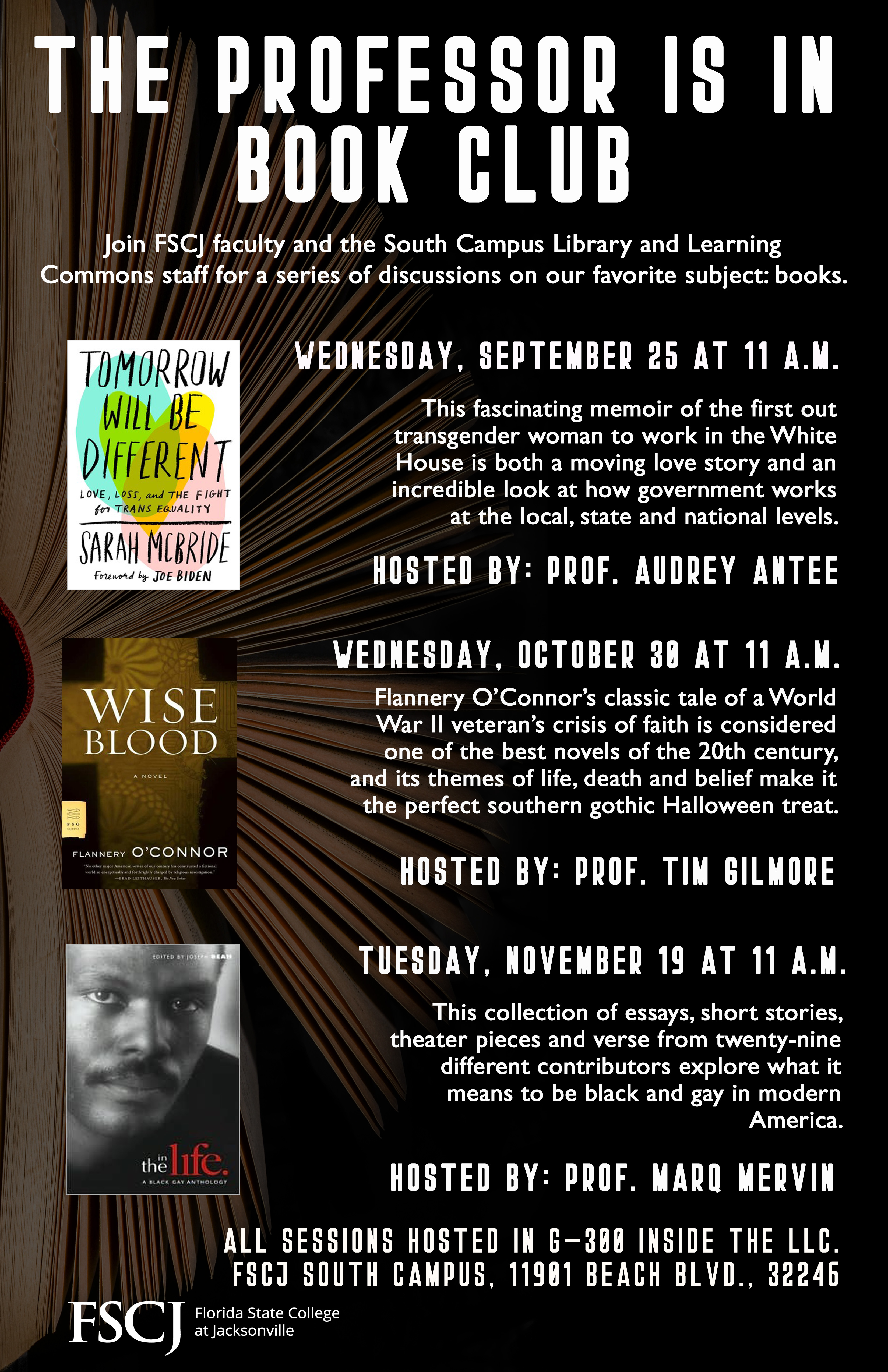 The Professor Is In Book Club: Tomorrow Will Be Different with Prof. Audrey Antee