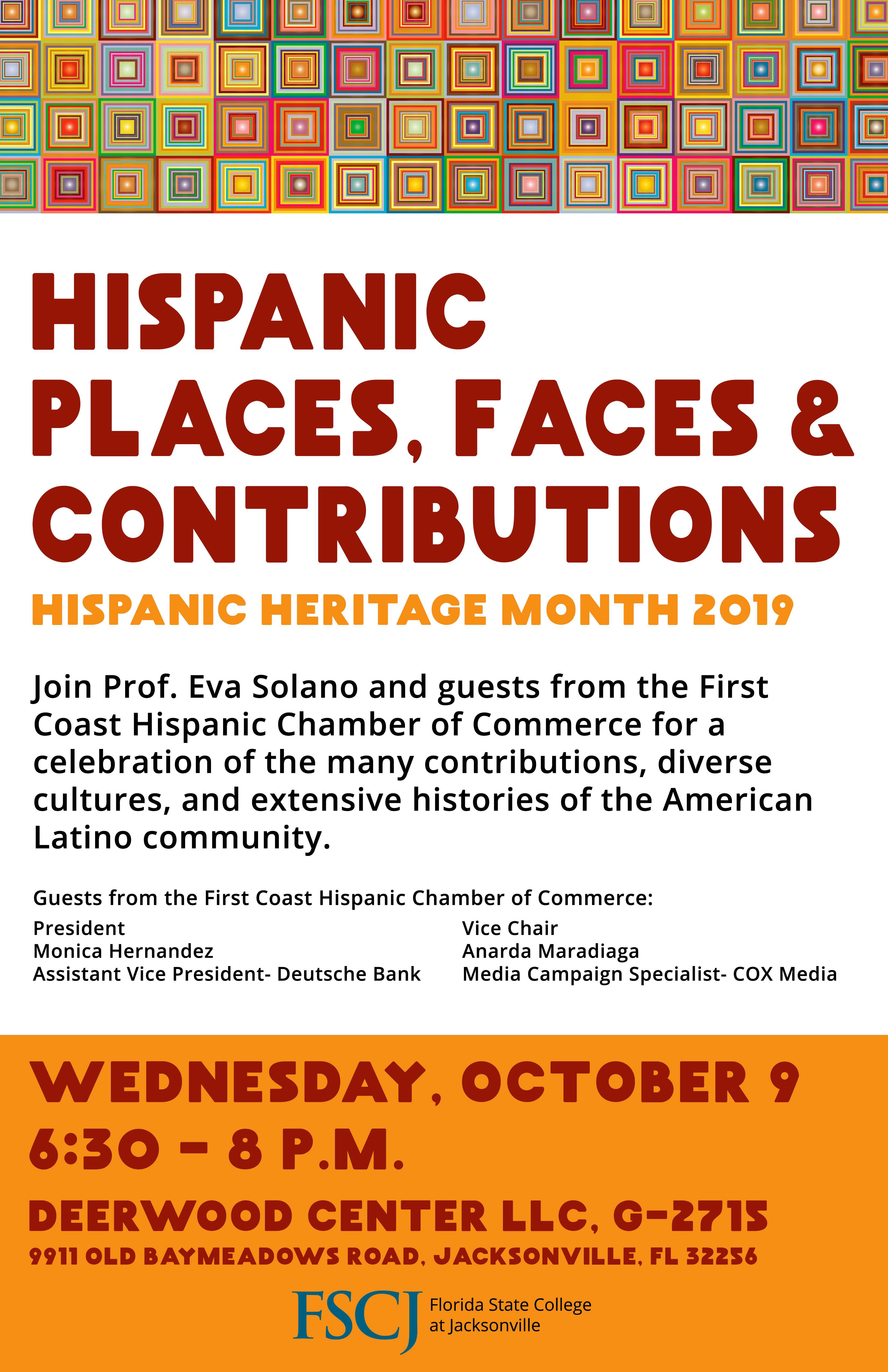 Hispanic Places, Faces and Contributions: Hispanic Heritage Month 2019