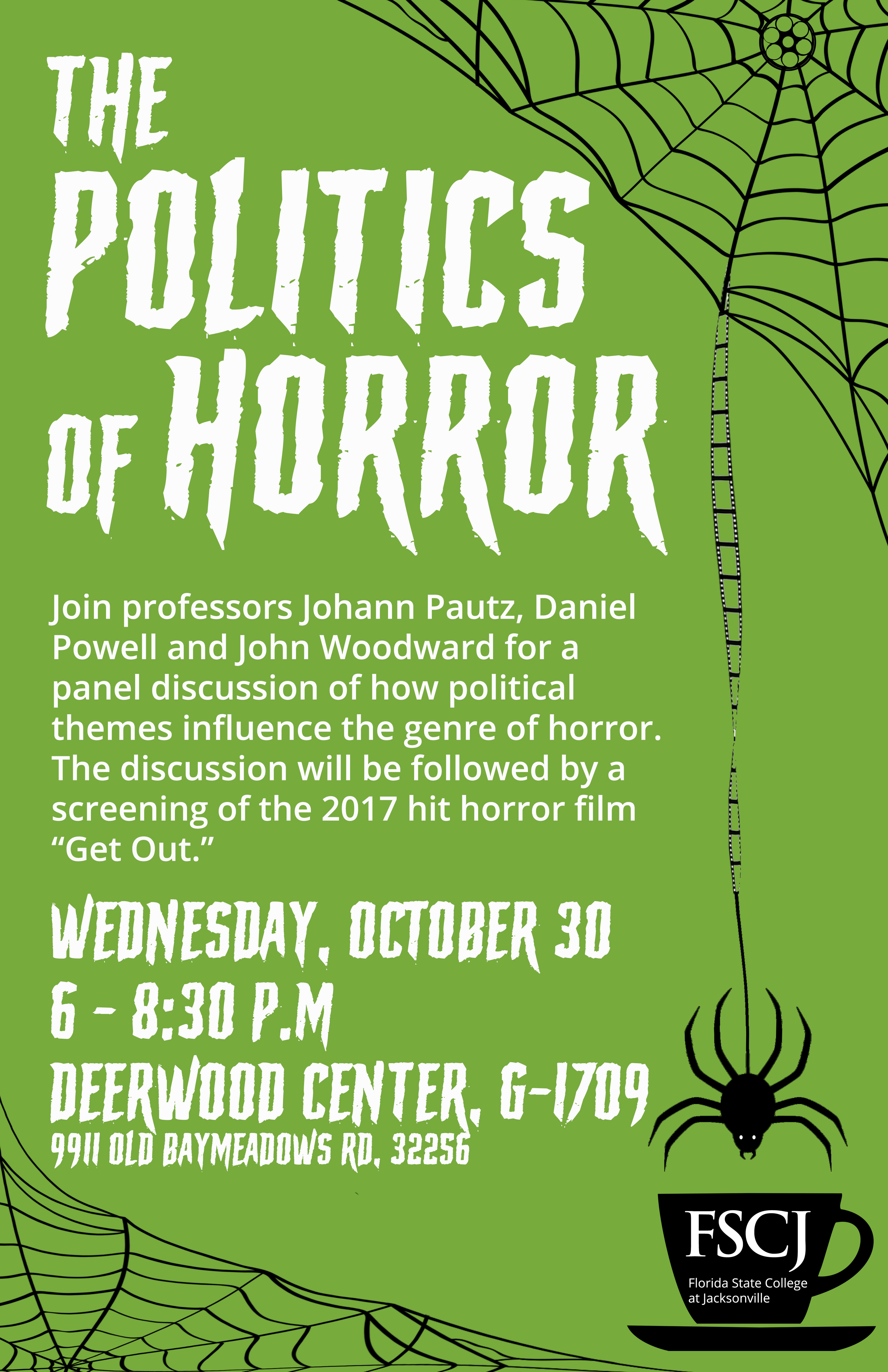 The Politics of Horror (featuring a screening of Get Out)