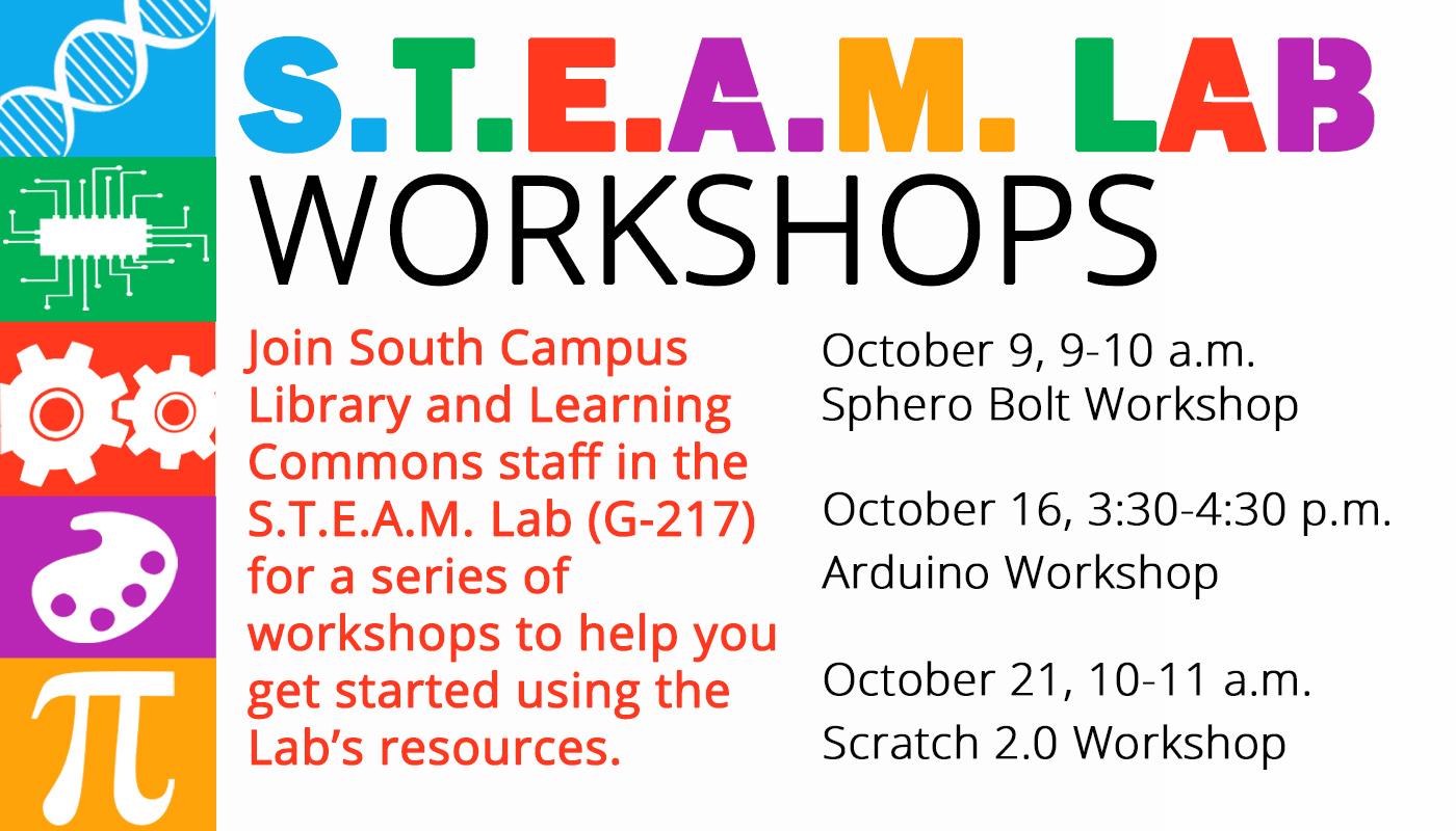 South Campus STEAM Lab: Arduino Workshop