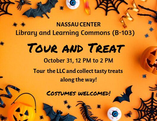 Nassau Center Tour and Treat