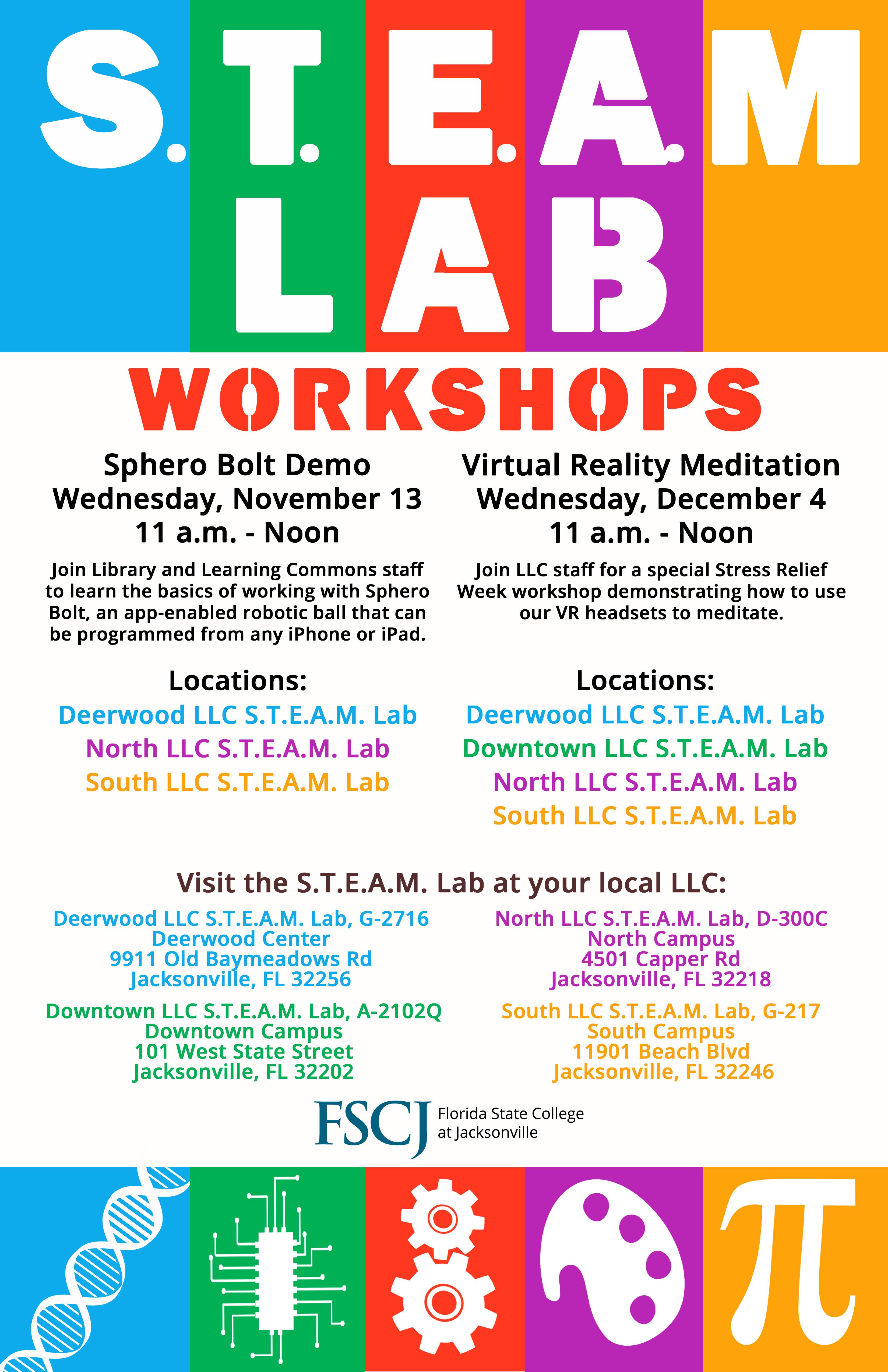 STEAM Lab Workshop: Sphero Bolt Demo