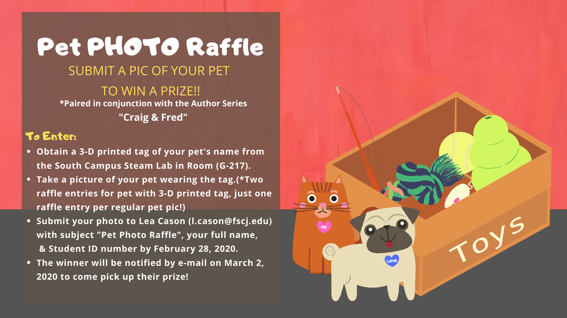 Pet Photo Raffle