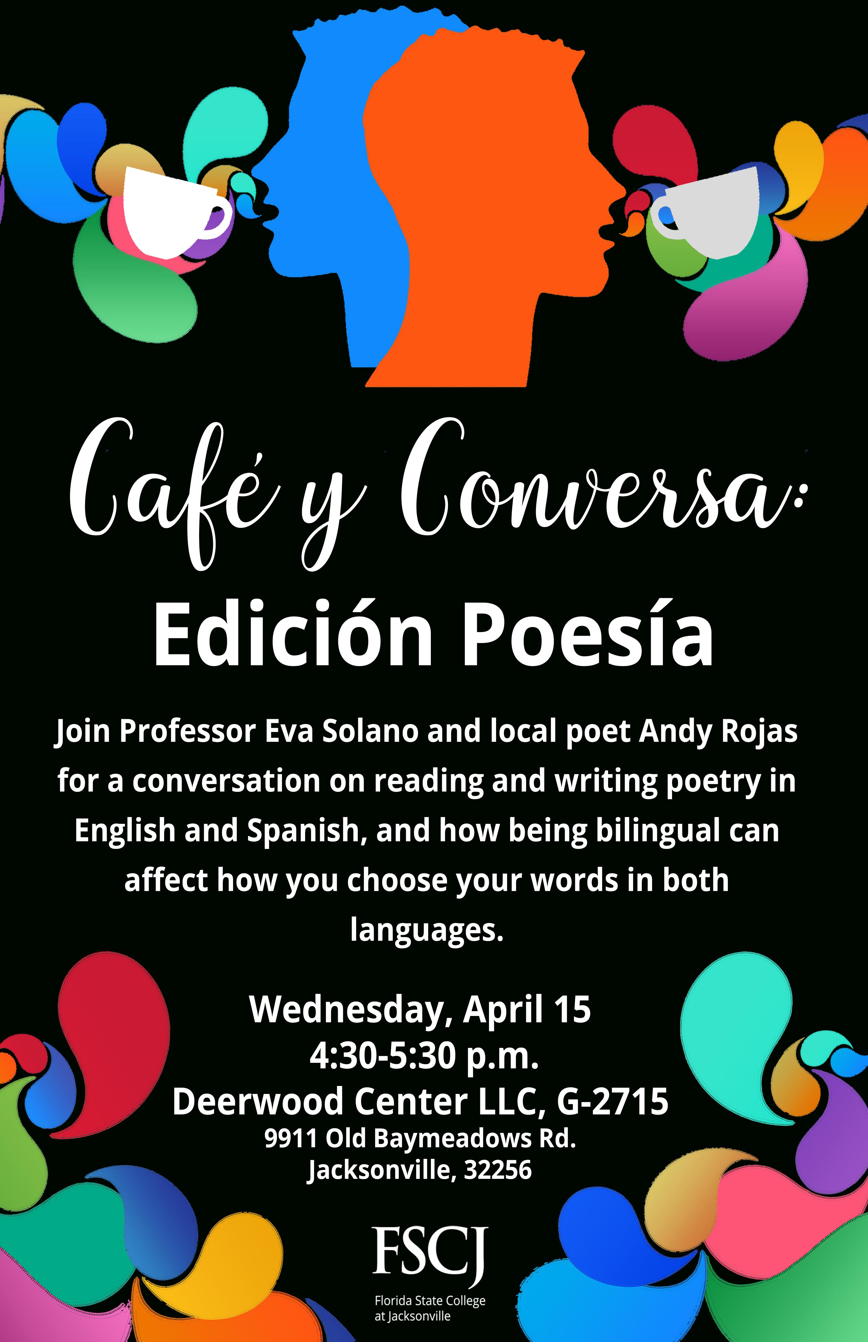 Cafe y Conversa: Edición Poesía