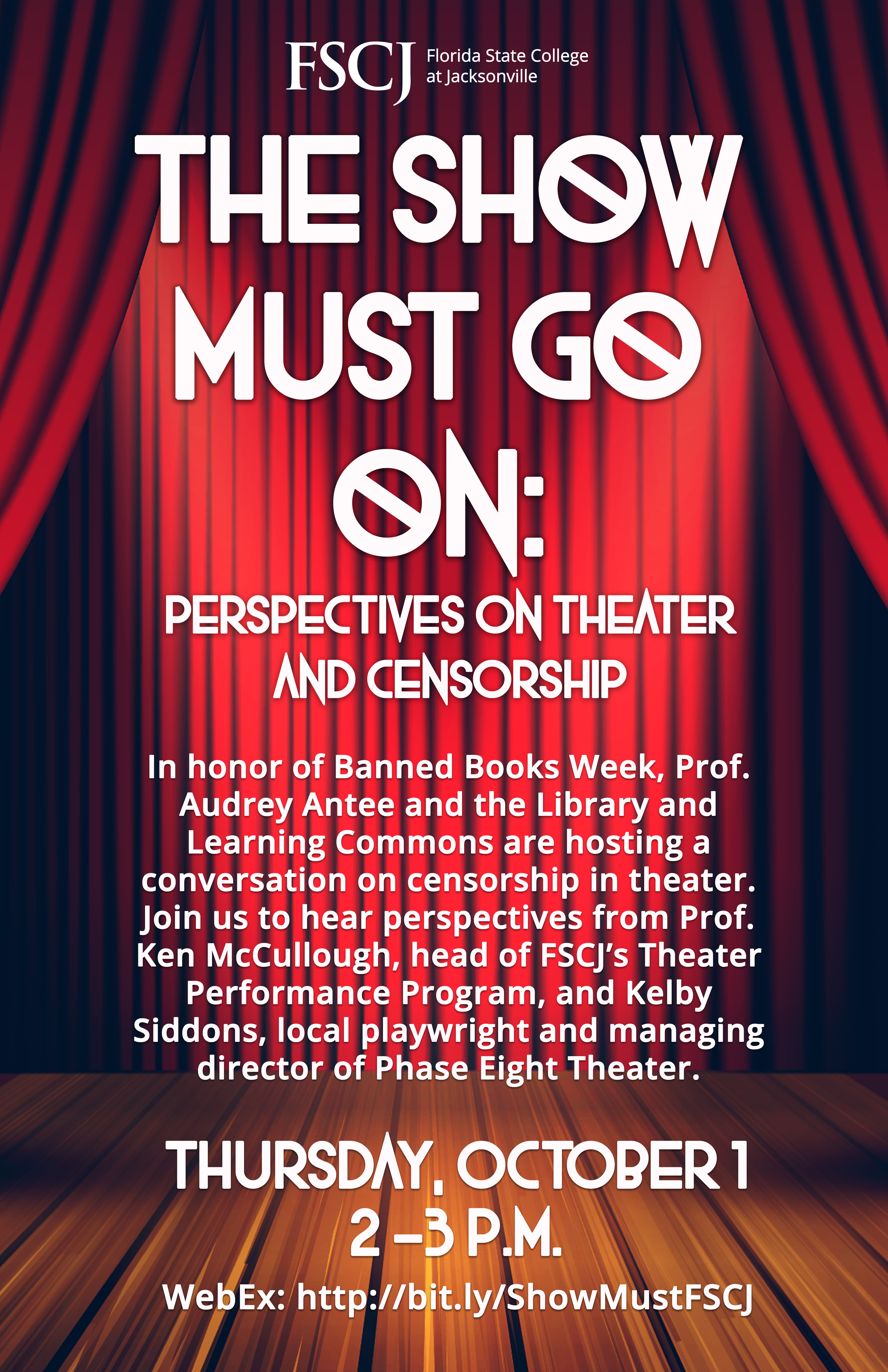 The Show Must Go On: Perspectives on Theater & Censorship