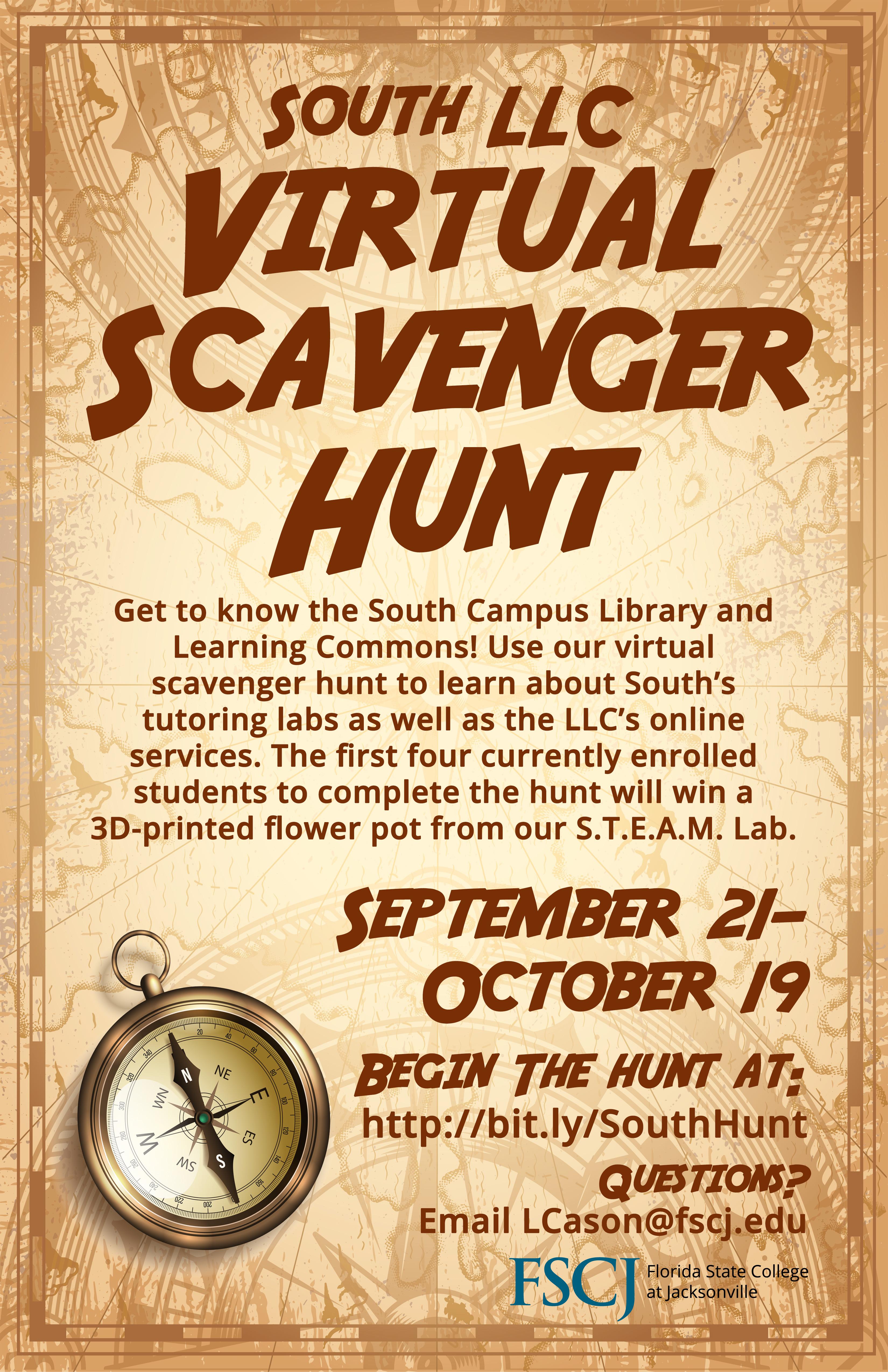 South LLC Virtual Scavenger Hunt