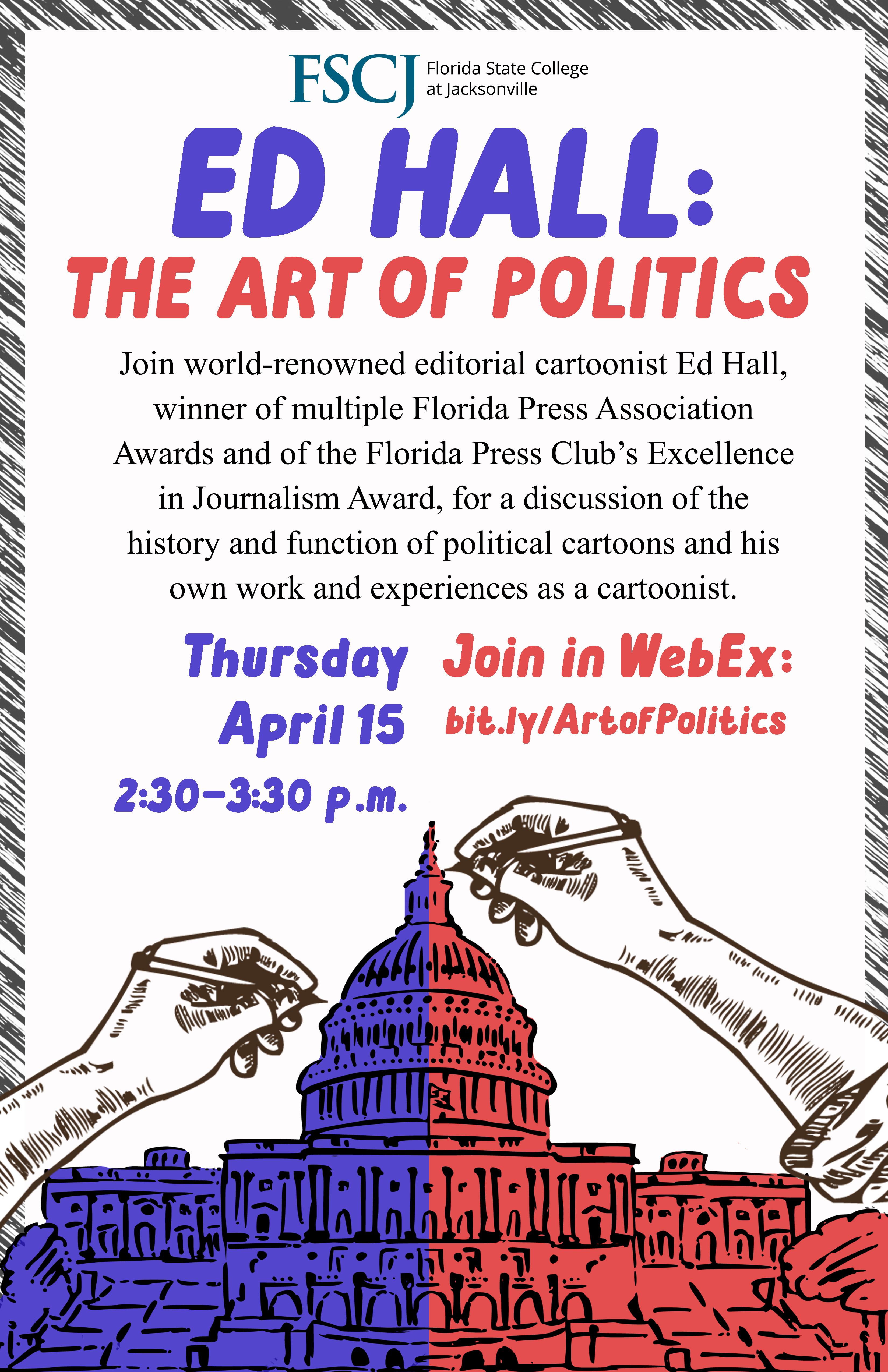 Ed Hall: The Art of Politics