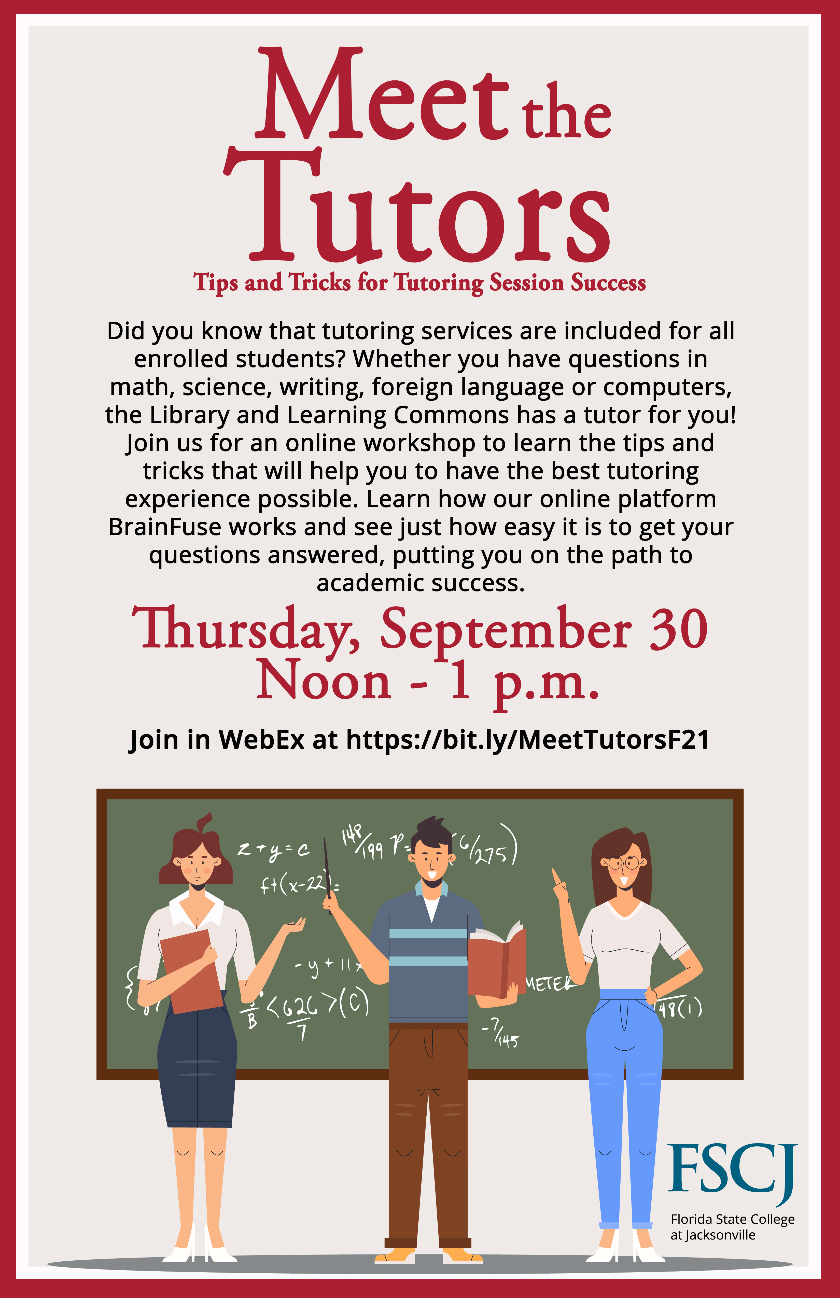 Meet the Tutors: Tips and Tricks for Tutoring Session Success
