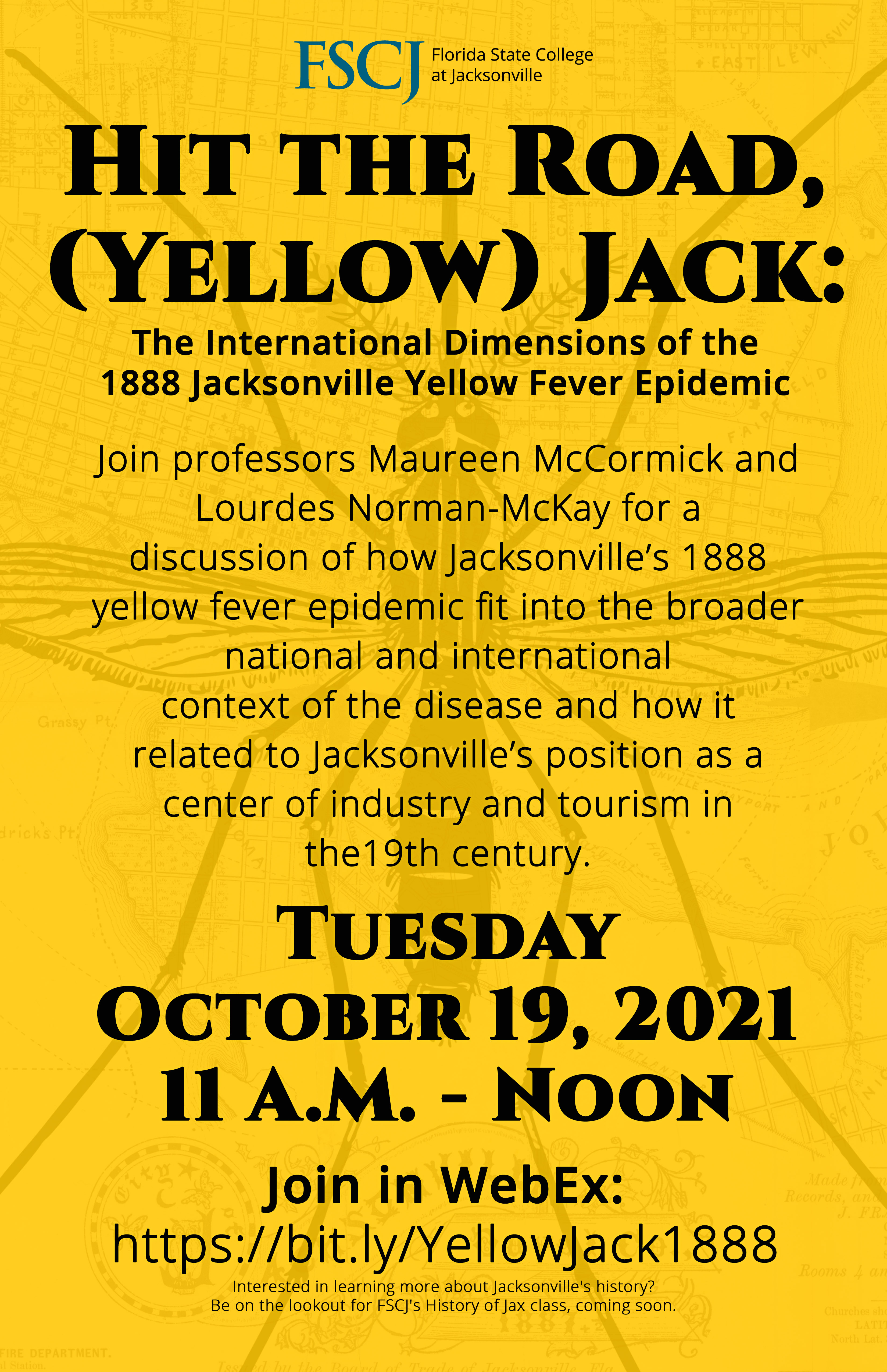 Hit the Road, (Yellow) Jack: International Dimensions of the 1888 Jacksonville Yellow Fever Epidemic