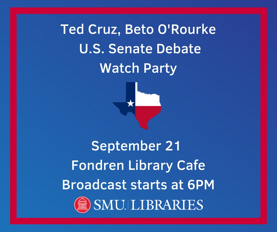 Cruz, O'Rourke Debate Watch Party