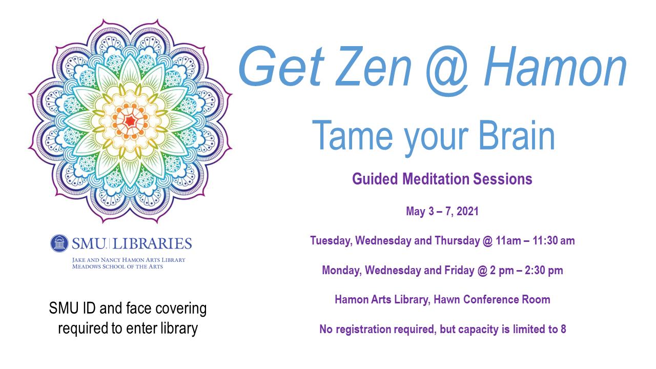 Get Zen @ Hamon: Tame Your Brain