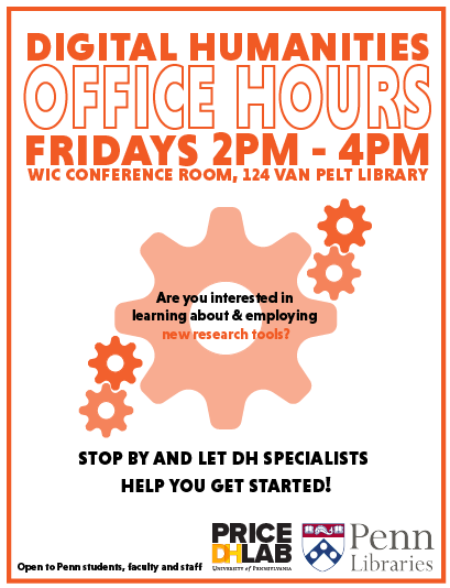 Digital Humanities Office Hours