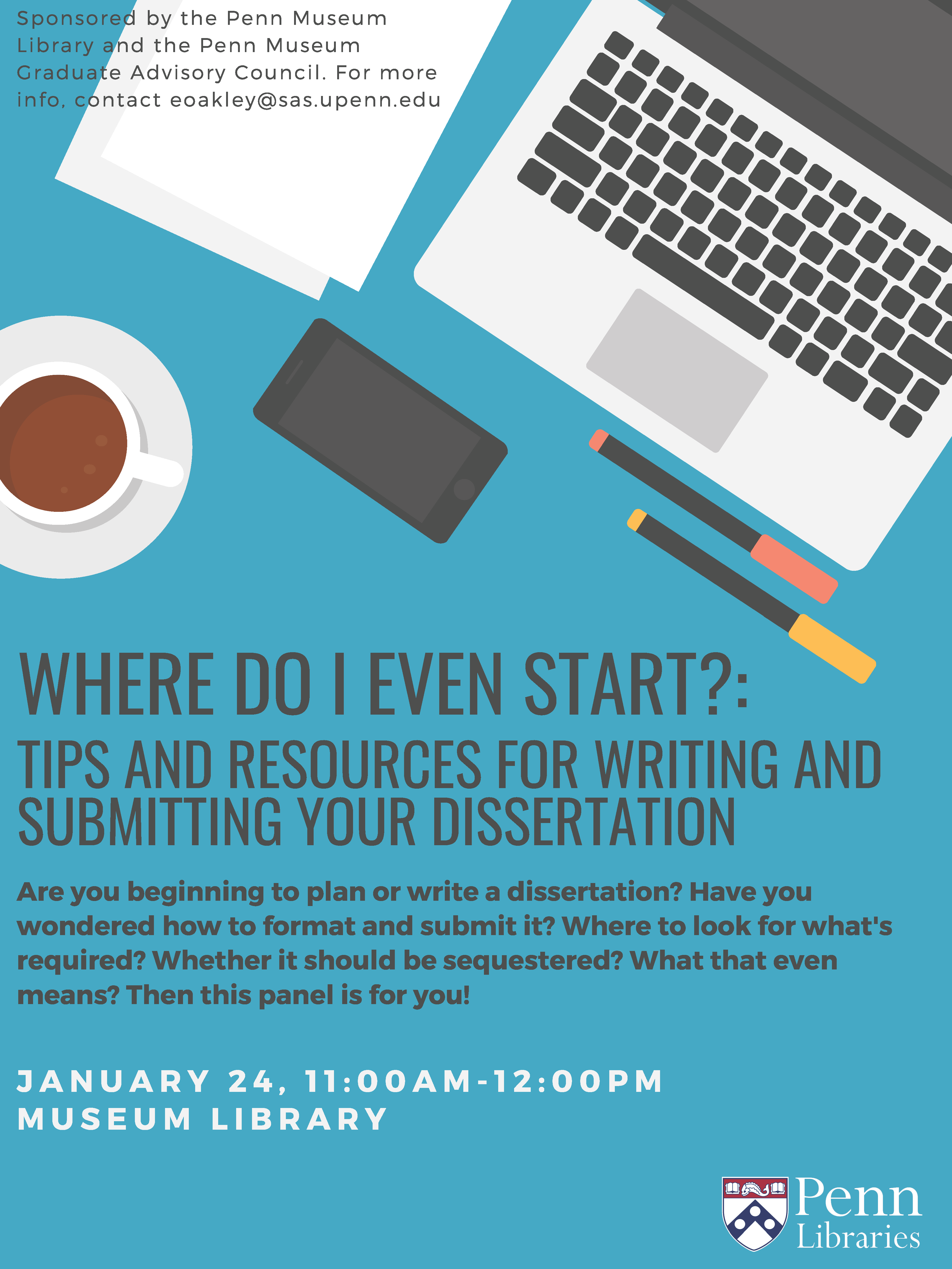 Where Do I Even Start?: Tips and Resources for Writing and Submitting Your Dissertation