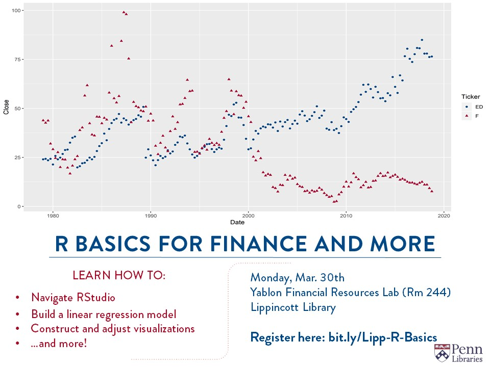 R Basics for Finance and More
