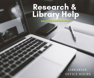 Education and Social & Behavioral Sciences Librarian Office Hours