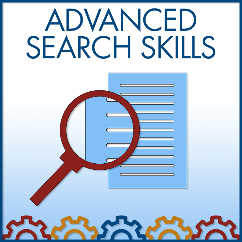 Advanced Search Skills Group Session