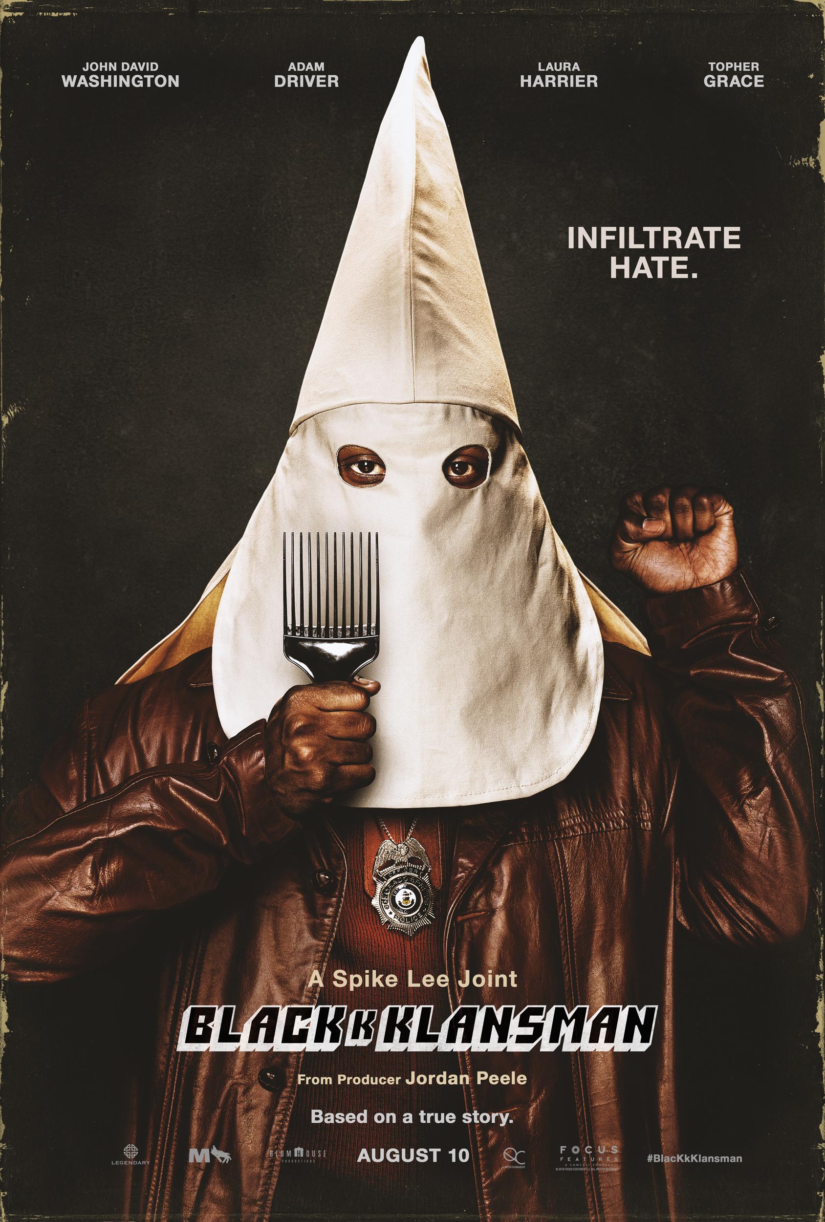 Academy Award Movie Series: BlacKkKlansman
