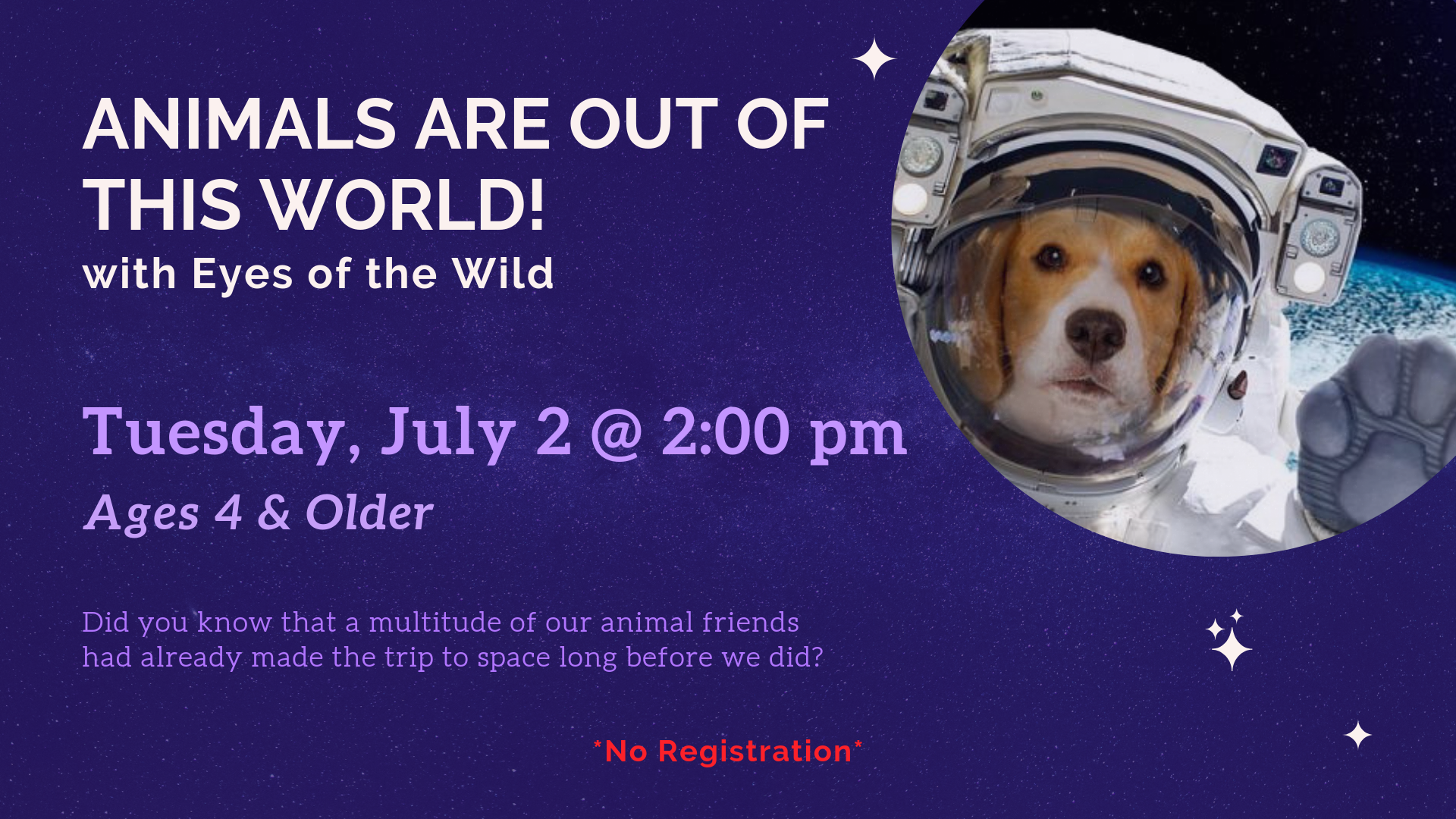 Animals Are Out of This World! | Ages 4+
