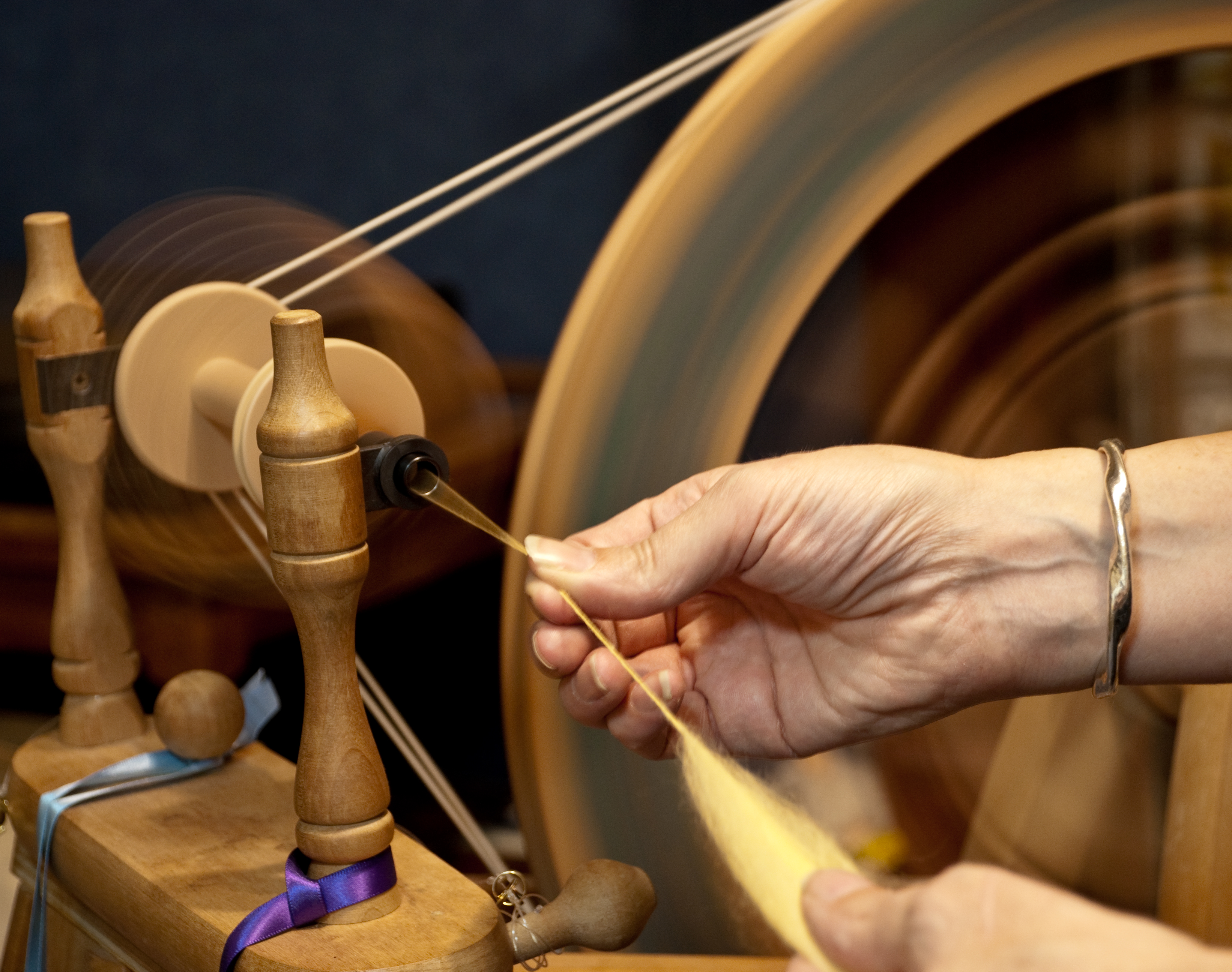 Canceled: Handspinning Group