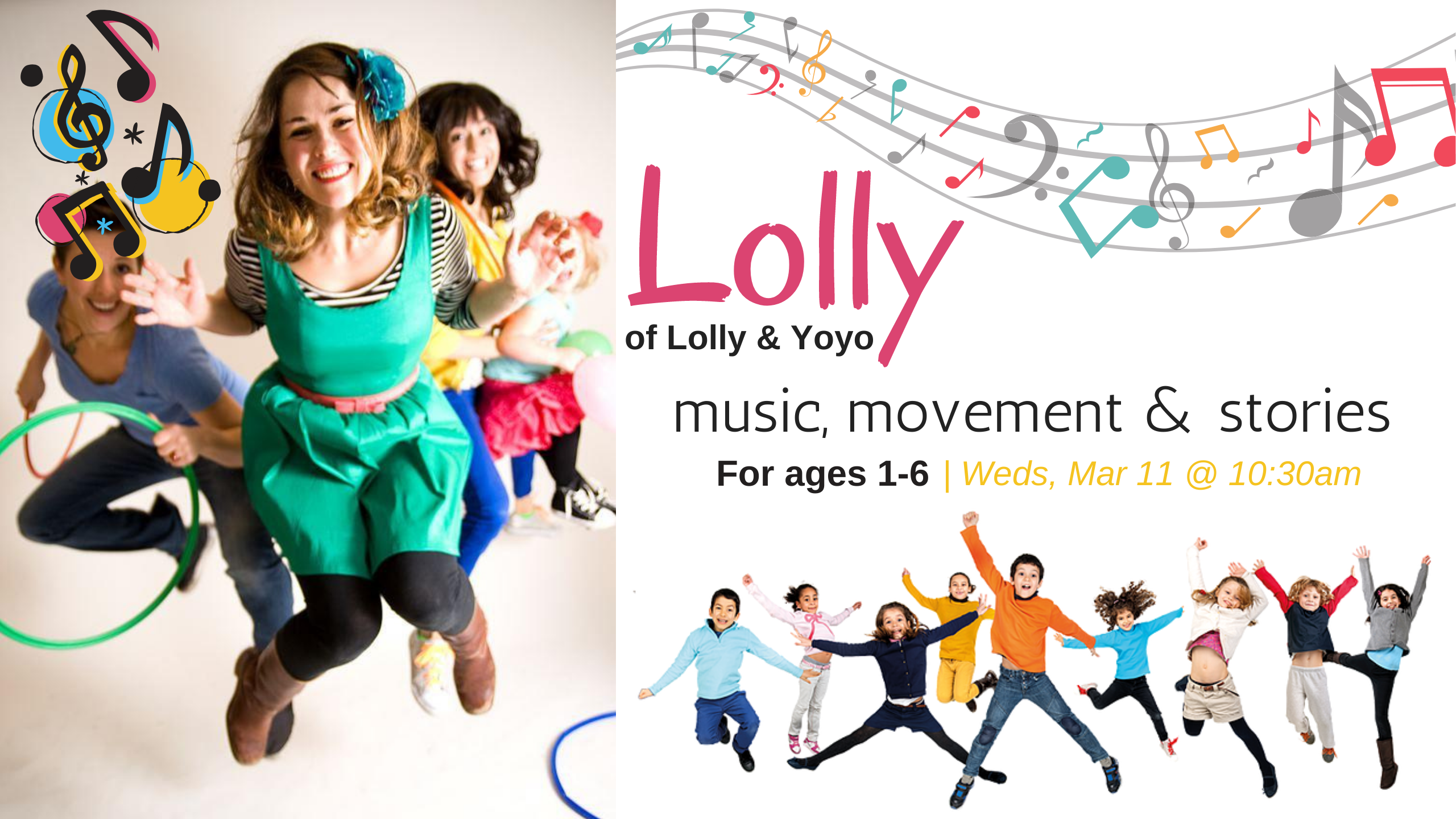 Lolly of Lolly & Yoyo | Ages 1 - 6