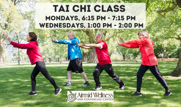 Online Tai Chi Class with Airmid Wellness and Counseling Center