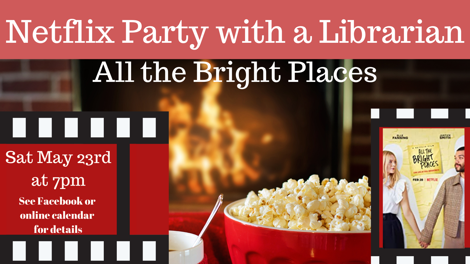 Netflix Party with a Librarian: All the Bright Places