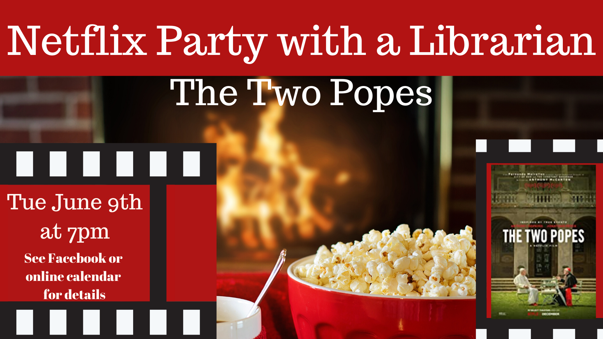 Netflix Party with a Librarian: The Two Popes