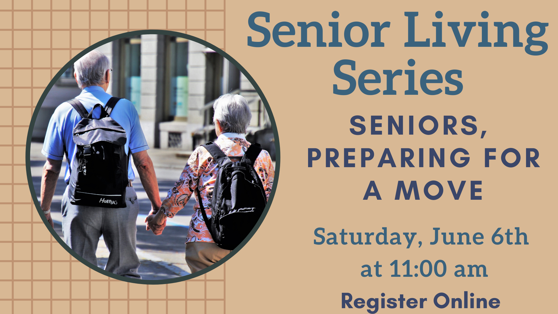 Senior Living Series:  Seniors, Preparing for a Move