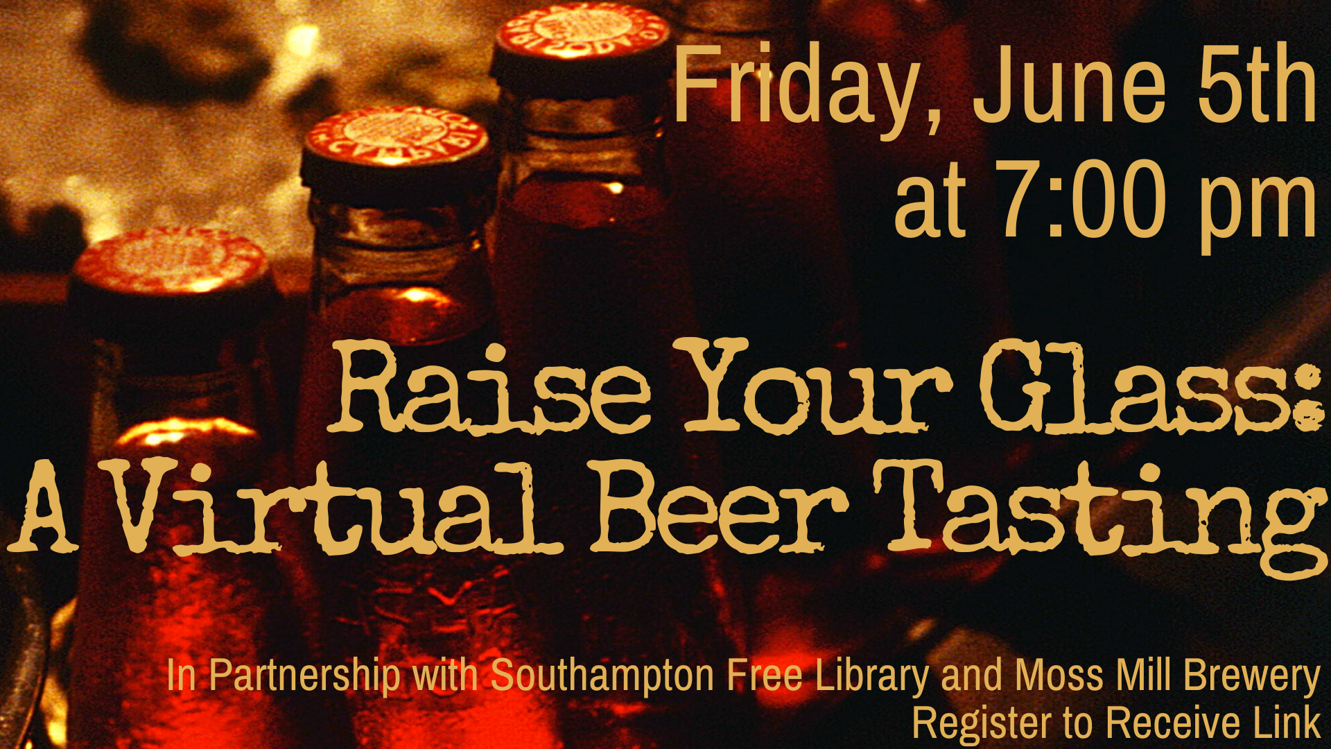 Raise Your Glass: A Virtual Beer Tasting