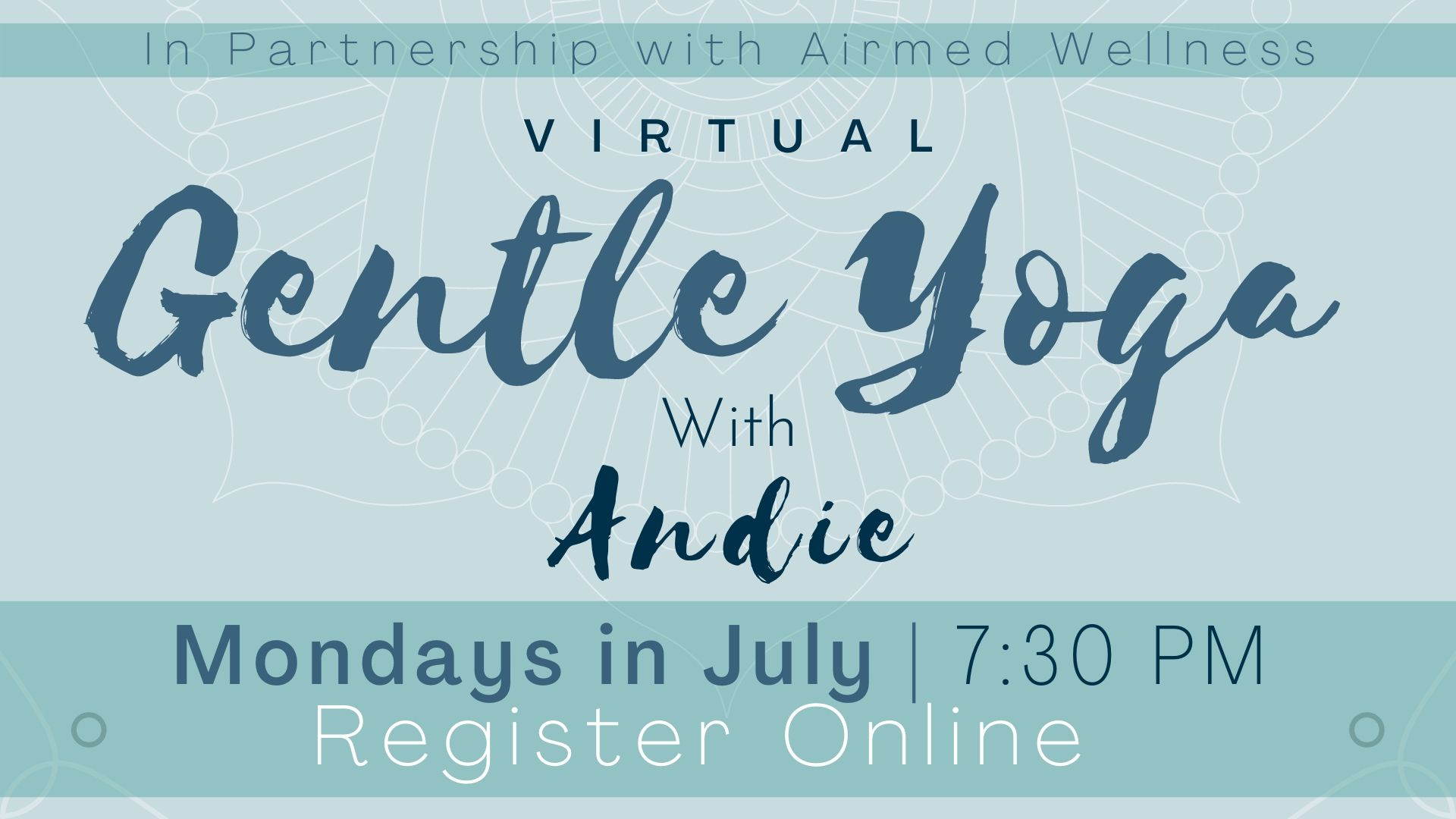 Gentle Yoga with Andie (Virtual Program)