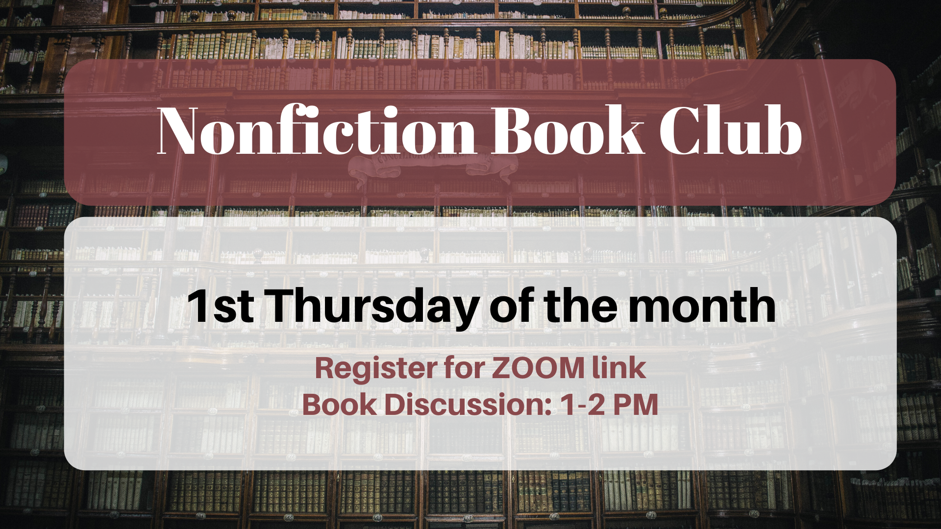 Nonfiction Book Club: First They Killed My Father by Loung Ung