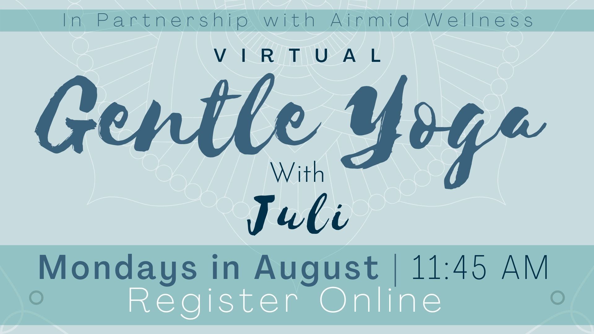 Virtual Gentle Yoga with Juli