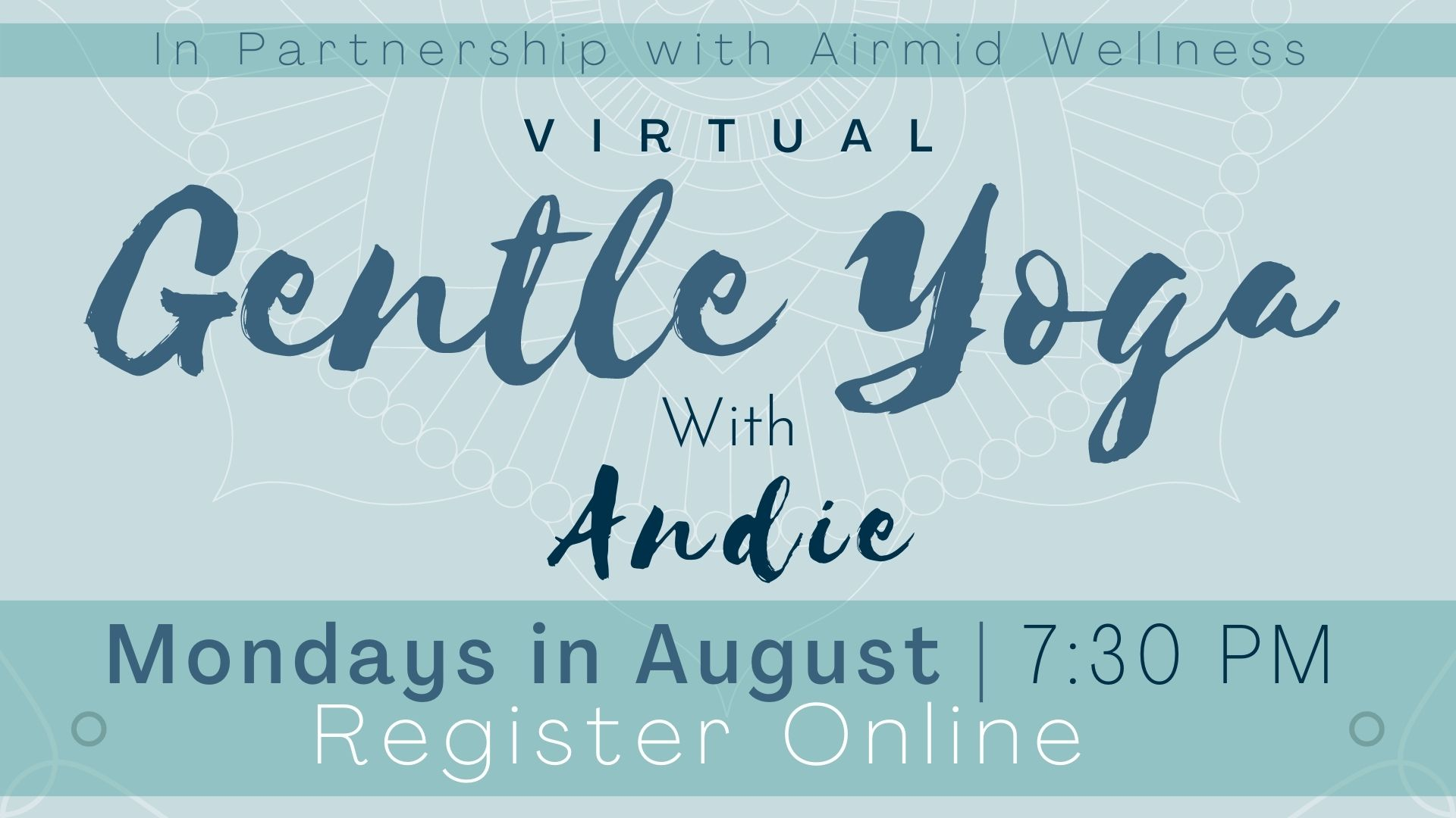 Virtual Gentle Yoga with Andie