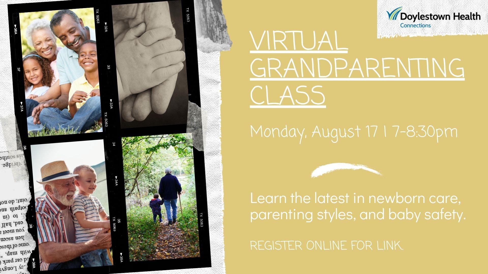 Virtual Grandparenting Class