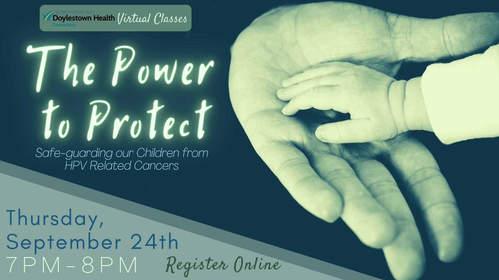 The Power to Protect: Safe-guarding our Children from HPV Related Cancers