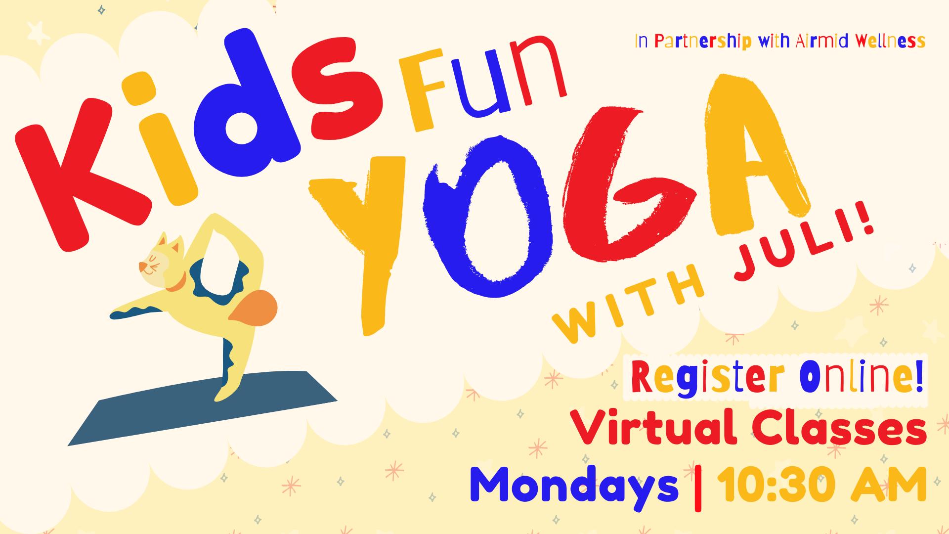 Virtual Kids Fun Yoga with Juli
