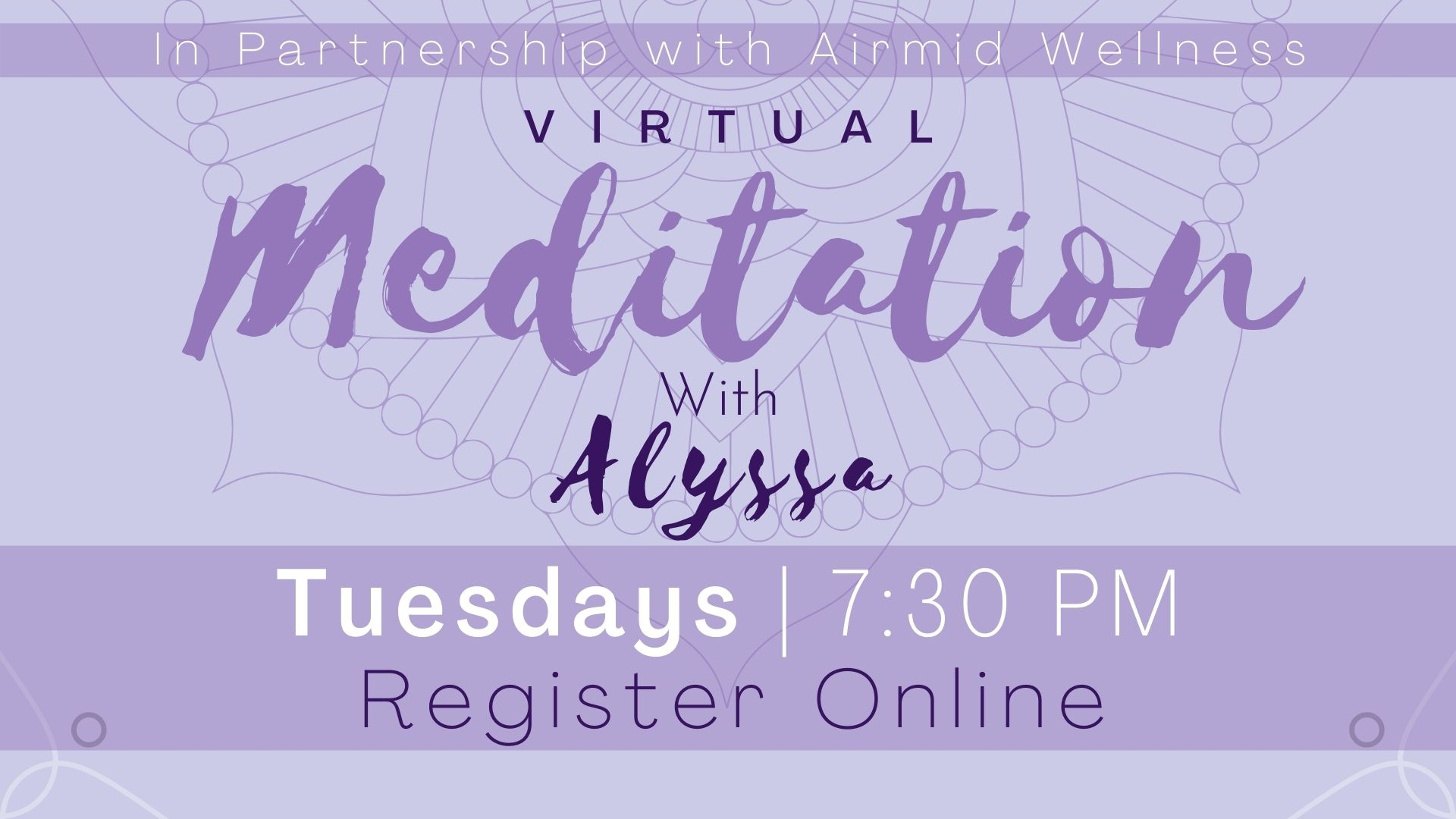 (Virtual) Meditation with Alyssa