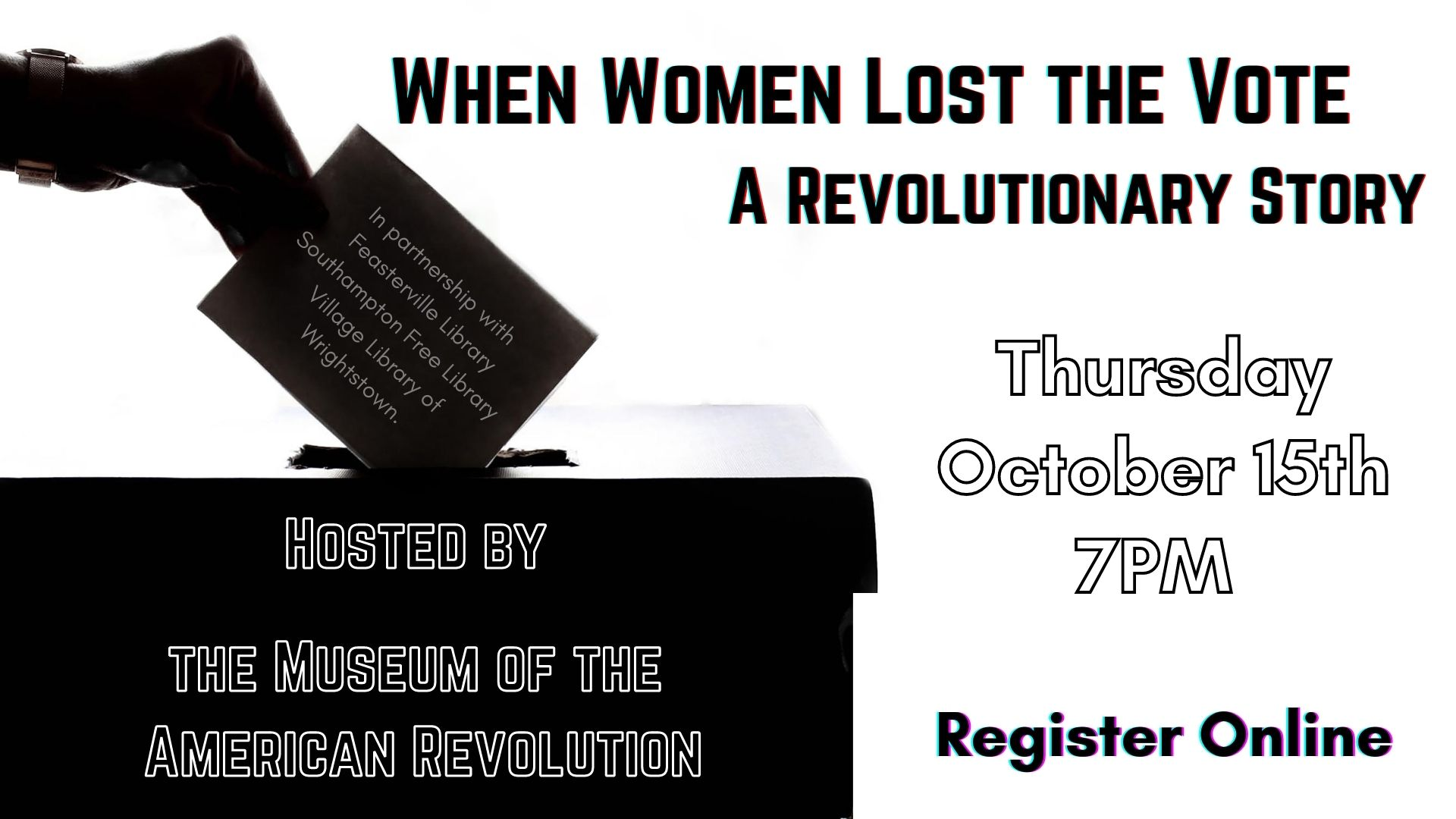 When Women Lost the Vote: A Revolutionary Story, 1776-1807