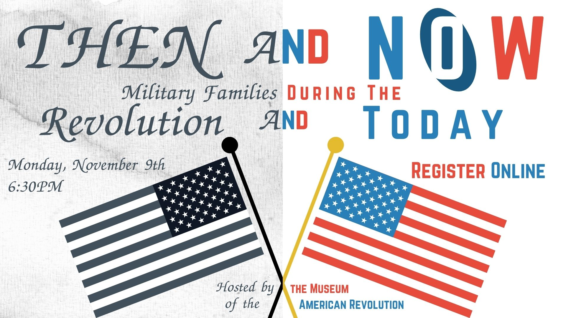Then and Now: Military Families During the Revolution and Today (Online)