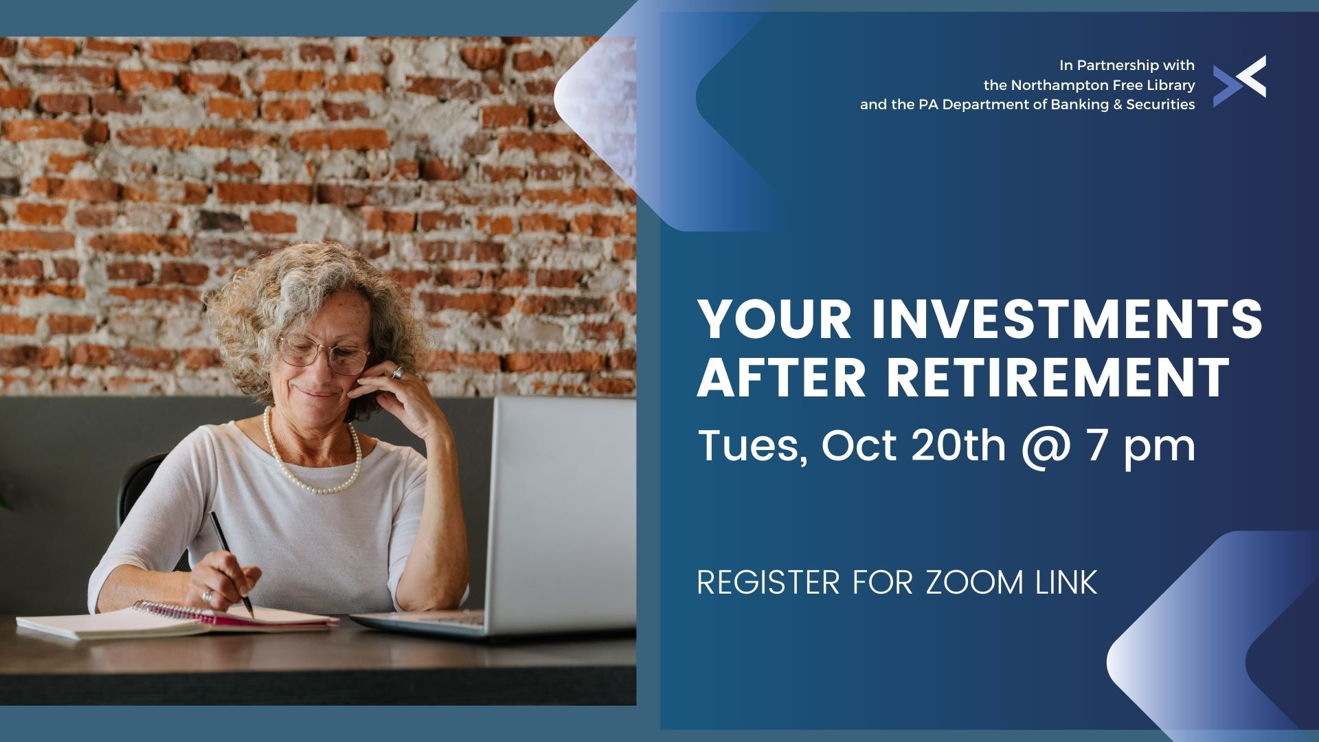 Your Investments: After Retirement Presented by the PA Department of Banking and Securities
