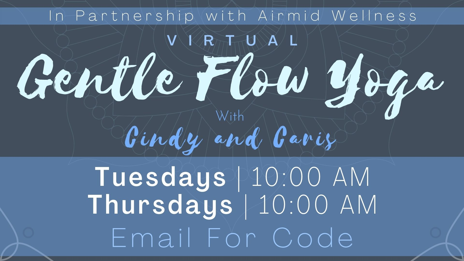 Gentle Flow Yoga for All Levels with Cindy and Caris