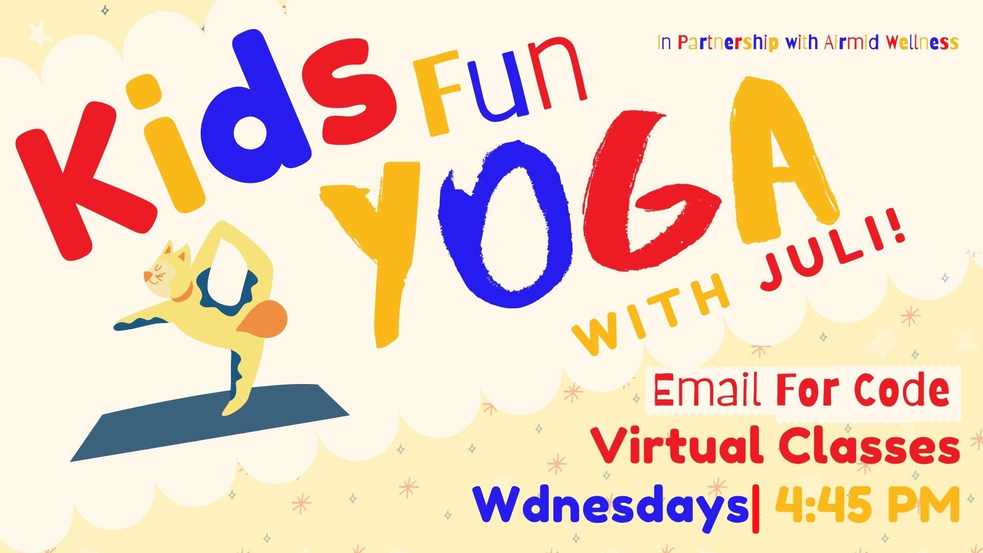 Kids Fun Yoga with Juli