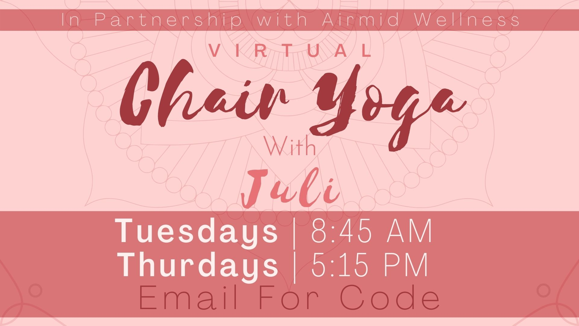 Chair Yoga for Balance and Strength with Juli