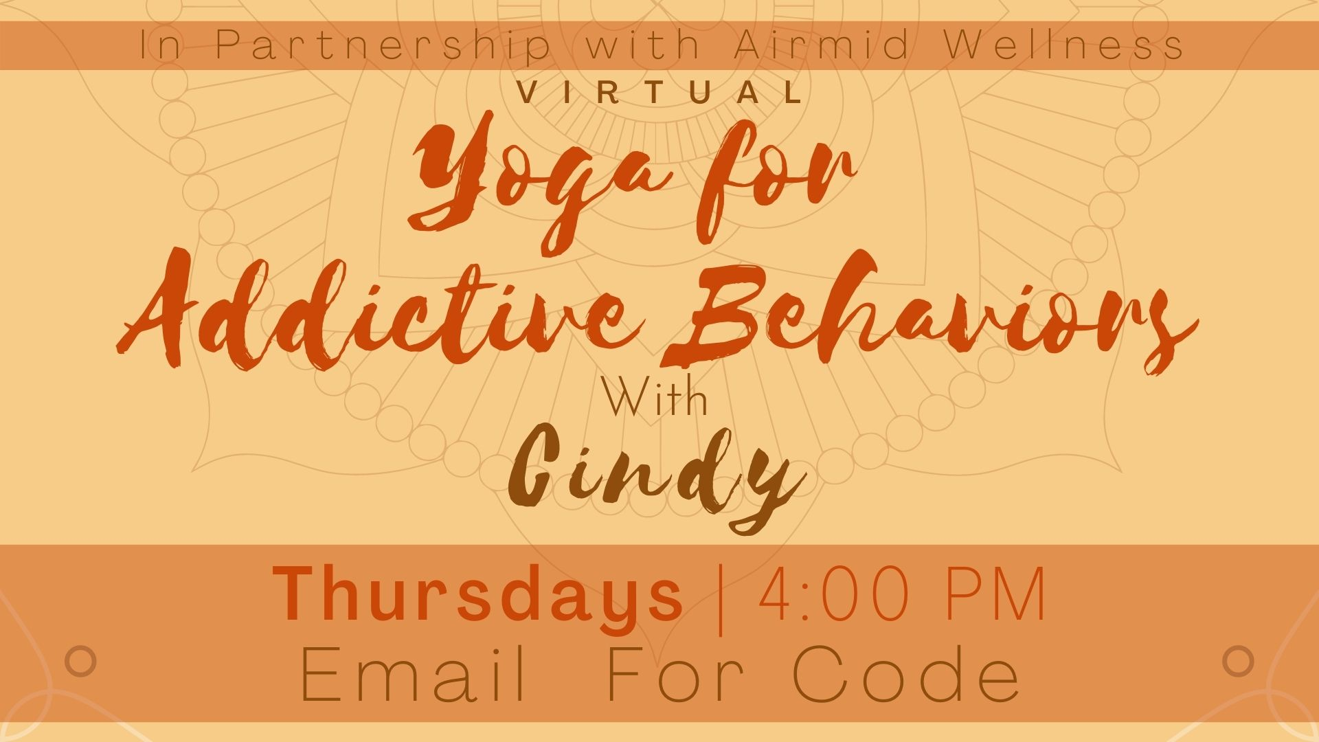 Yoga for Addictive Behaviors with Cindy