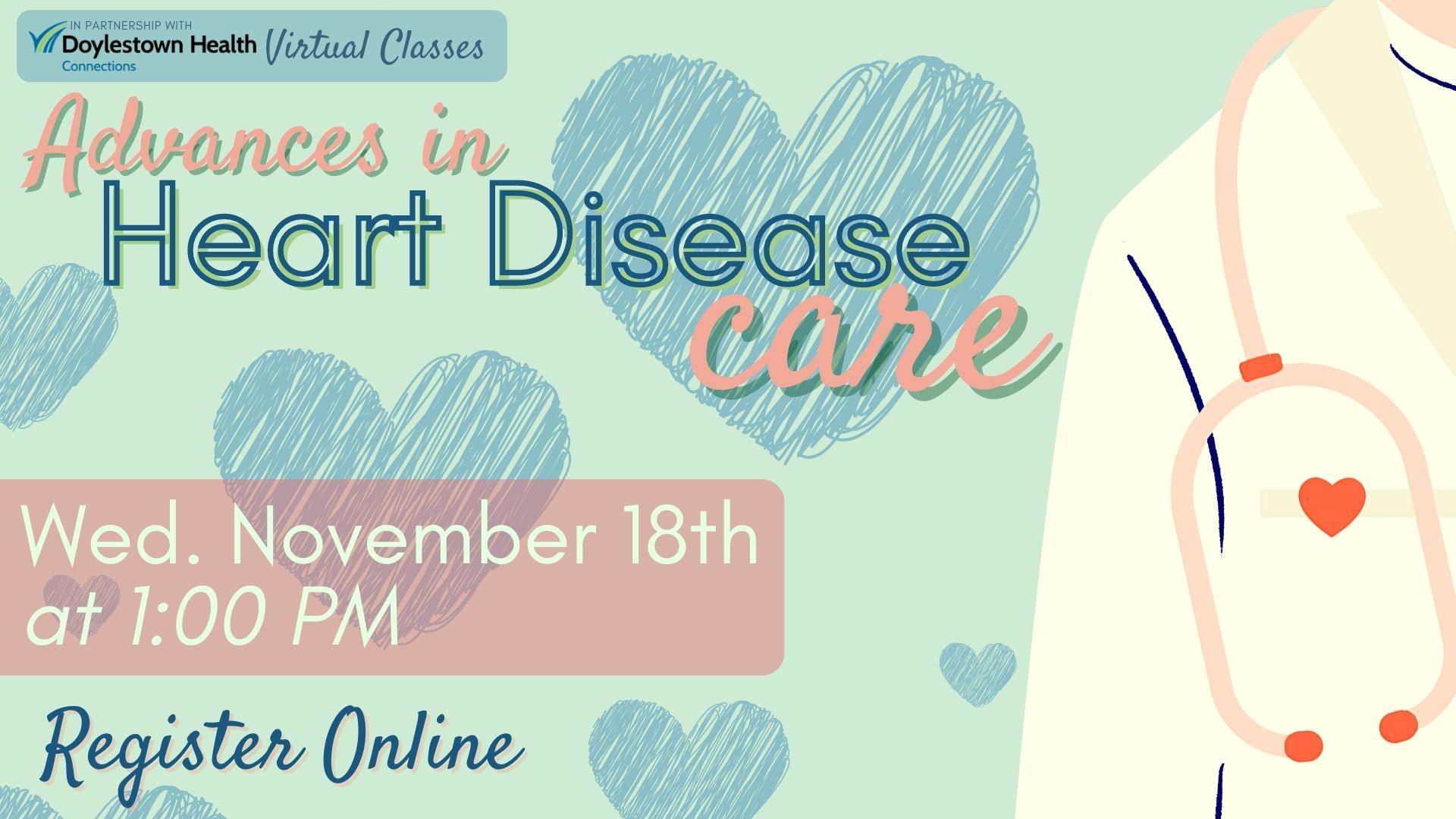 Advances in Heart Disease Care (Webinar)