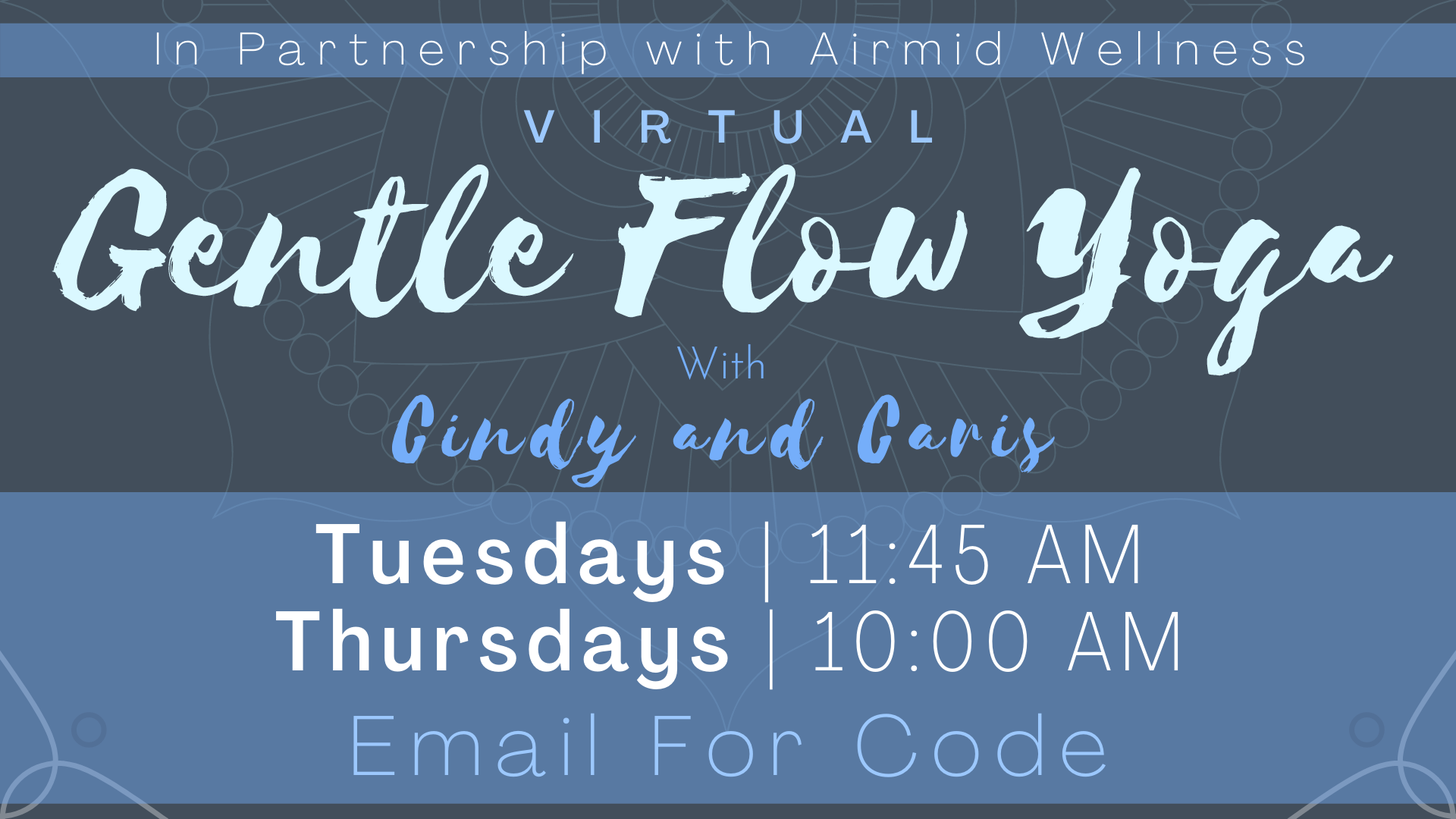 Gentle Flow Yoga with Cindy and Caris