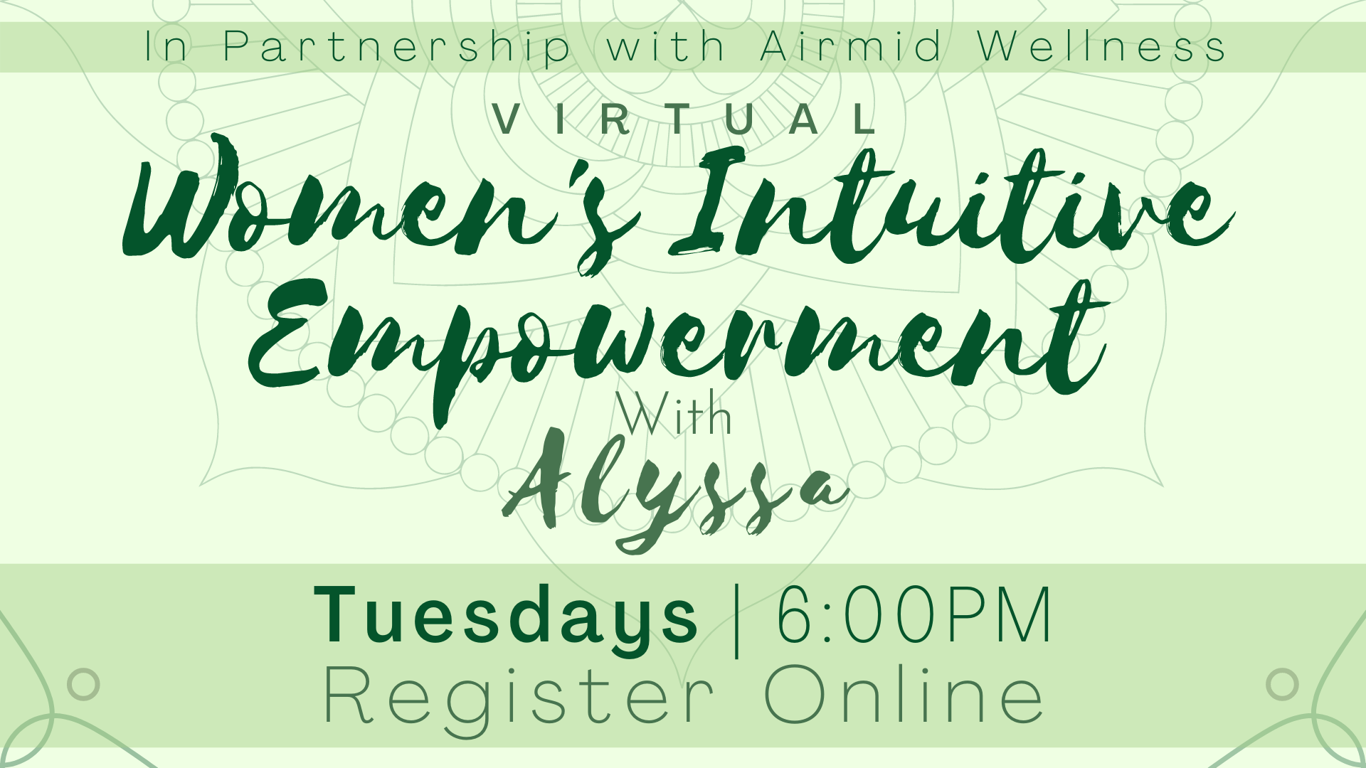 Women's Intuitive Empowerment with Alyssa