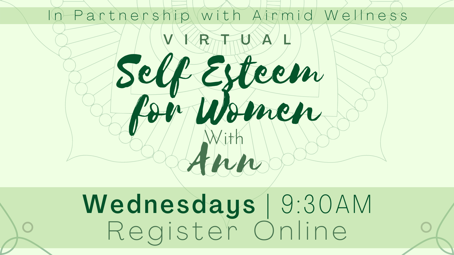 Self Esteem for Women with Ann