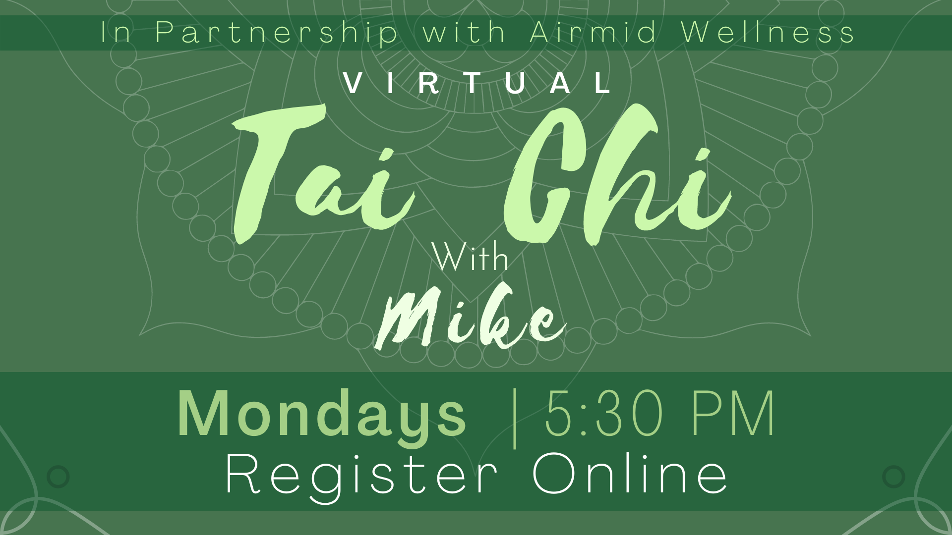 Tai Chi for Flexibility and Balance with Mike