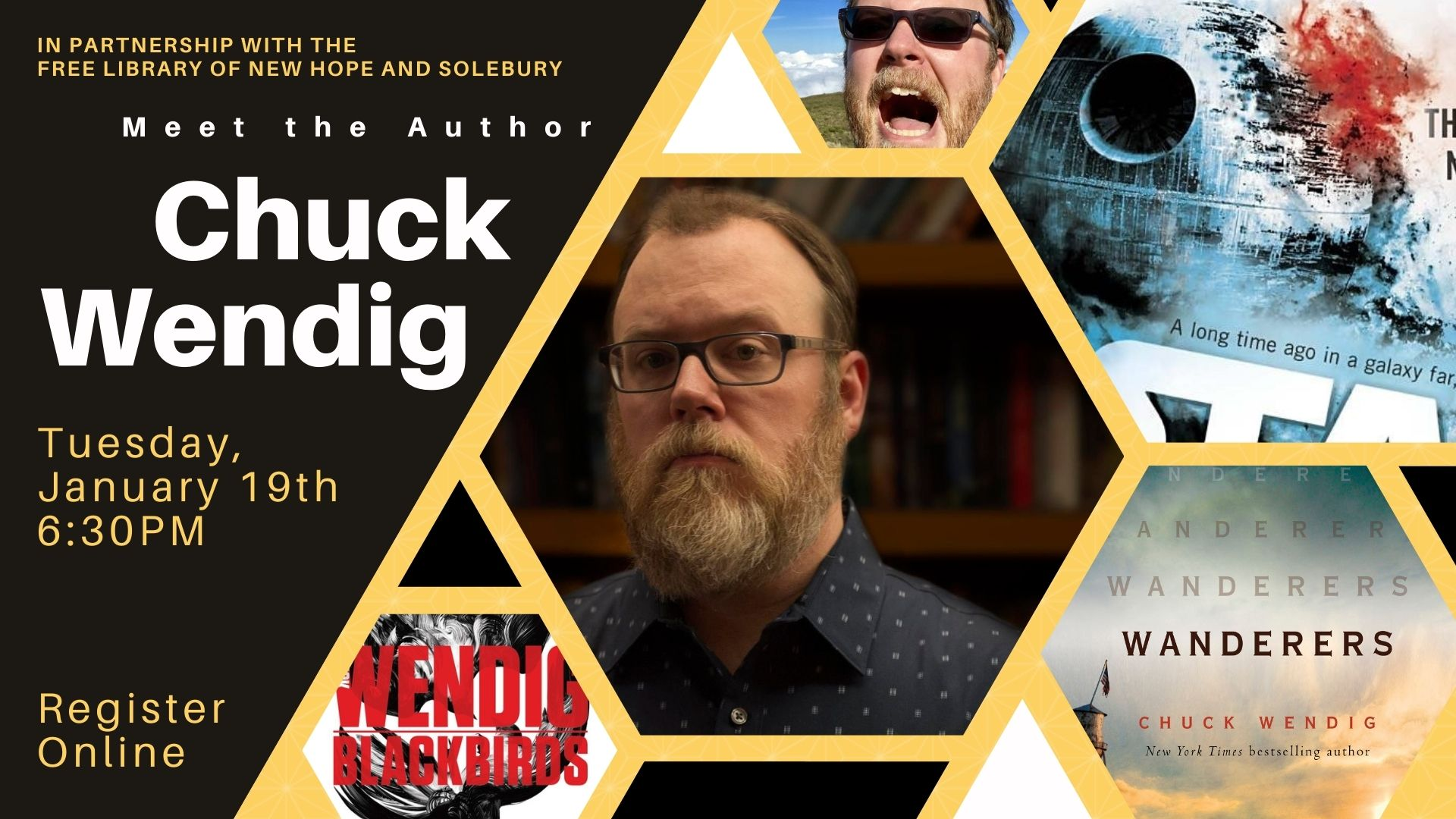 Meet the Author: Chuck Wendig